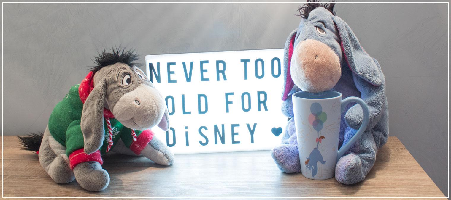 Disney, I-Aah, Disneyfanartikel