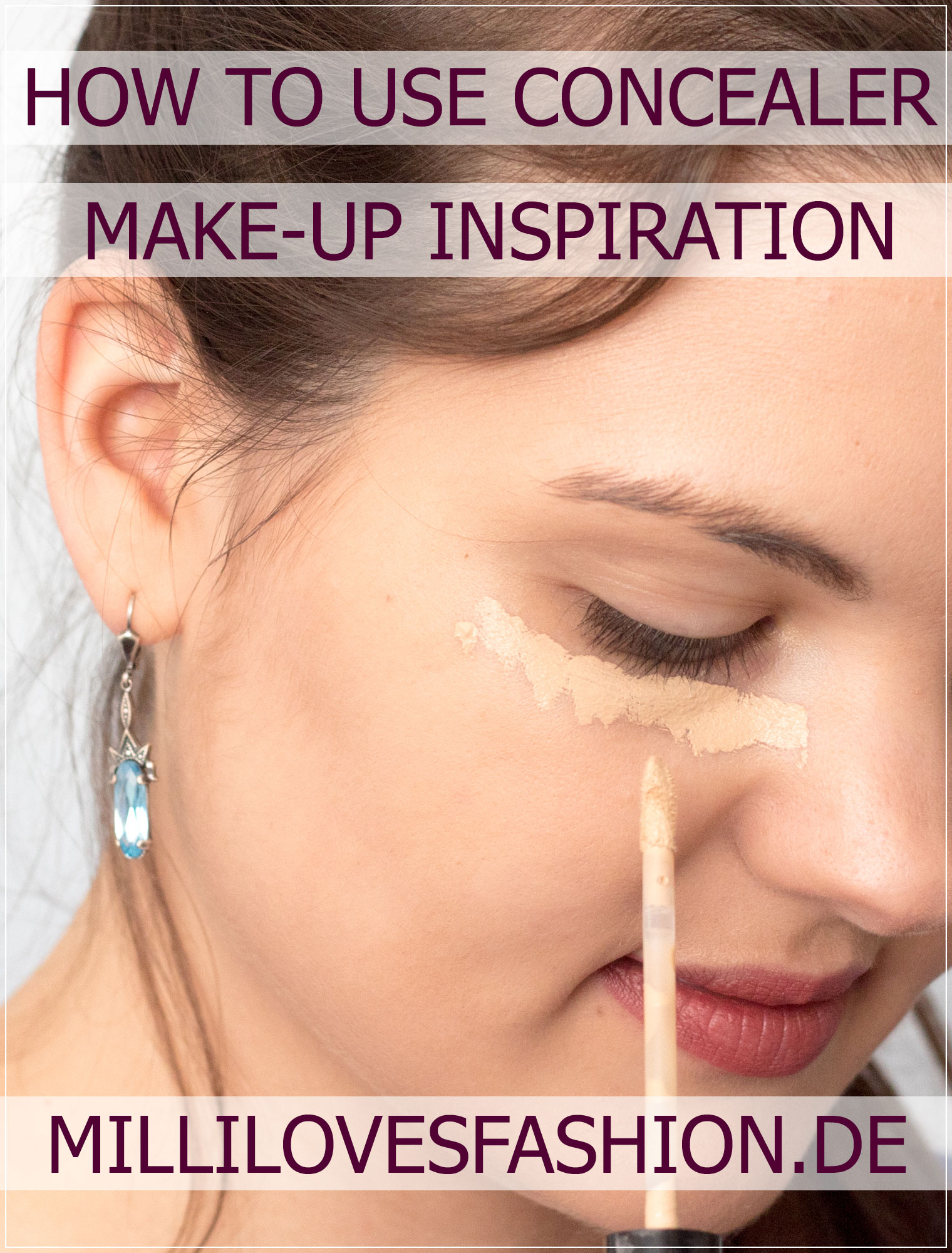 Concealer, Concealer-Tutorial, Make-Up Tutorial, Beauty-Tipp, Beauty