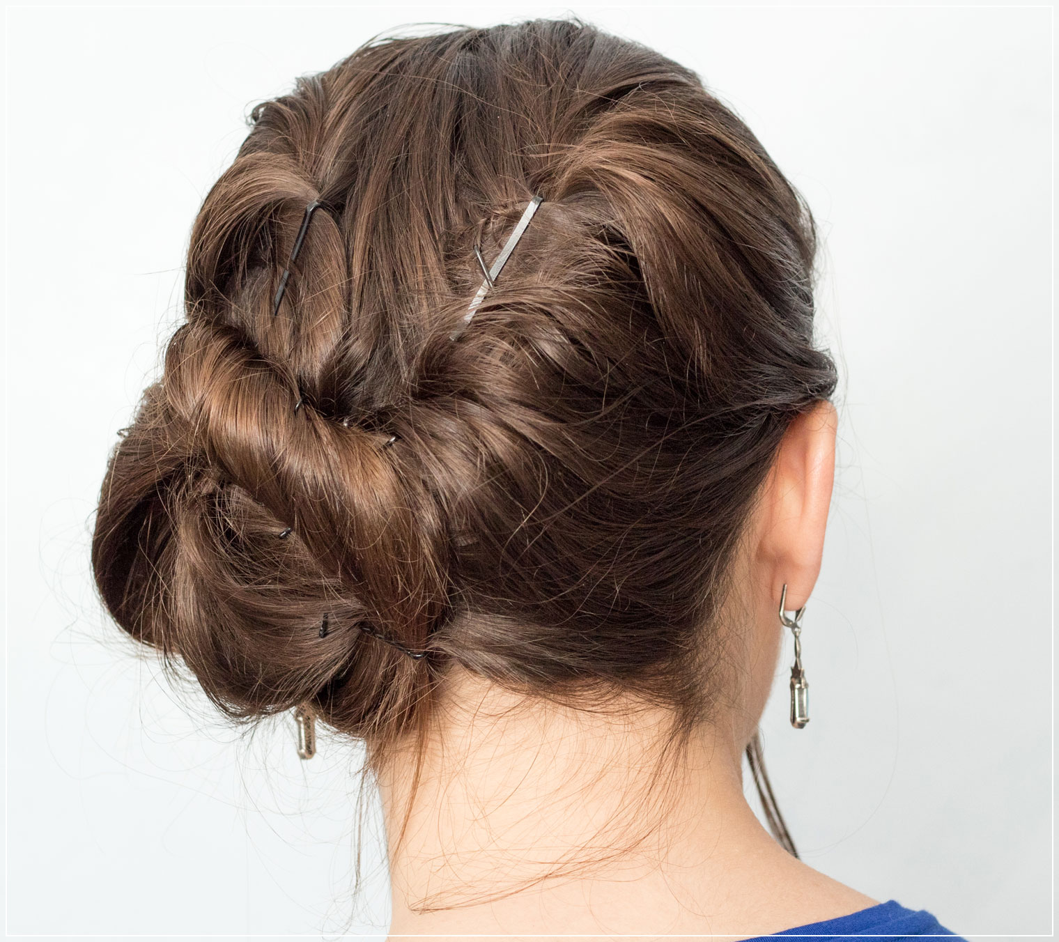 Rosetöne, Makeup Inspiration, Twisted Hairstyle, Hairtutorial, Make-Up Tutorial
