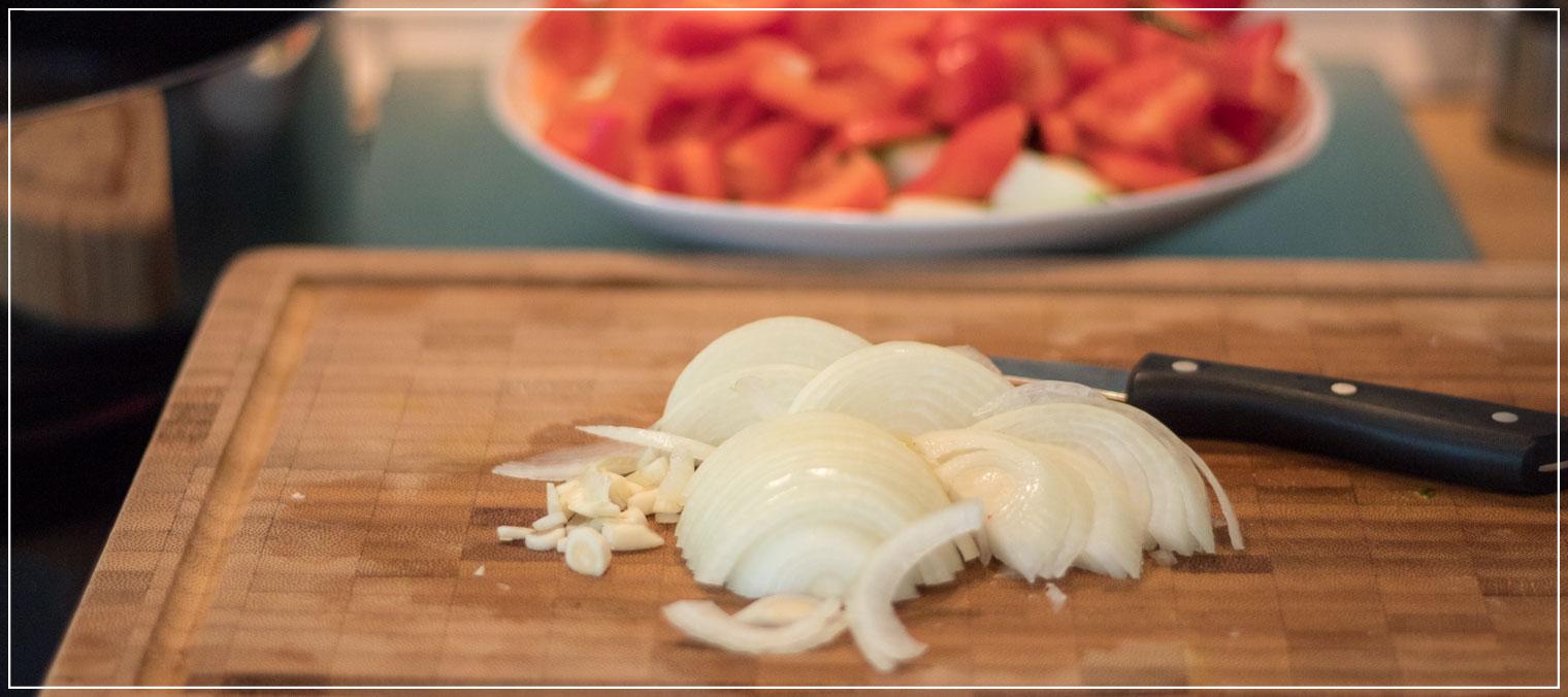 Nudelpfanne, Gemüse, Pesto, Mittagessen, Lunch, schnelle Küche