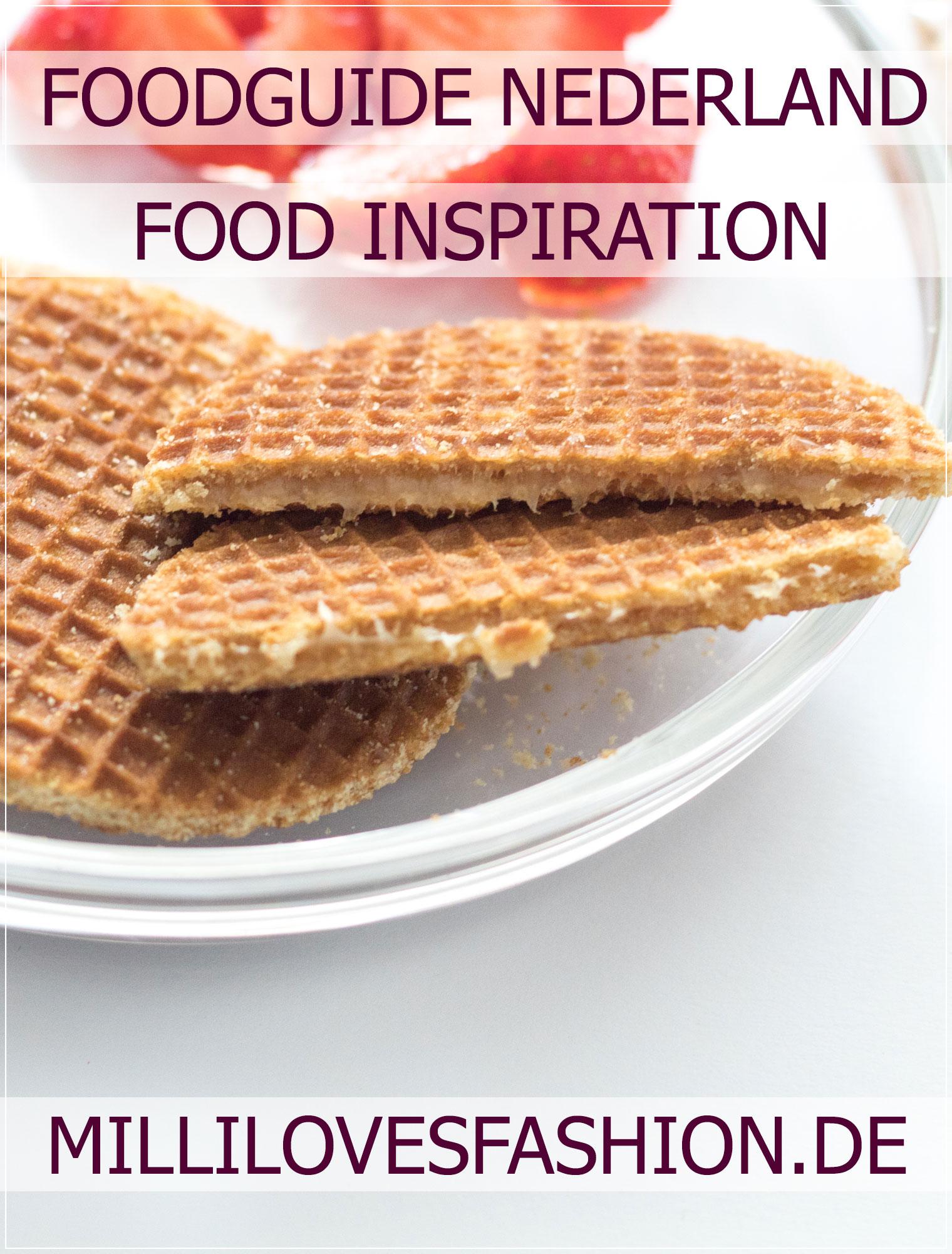 Stroop Waffels, niederländische Spezialitäten, Foodguide Niederlande, Holland