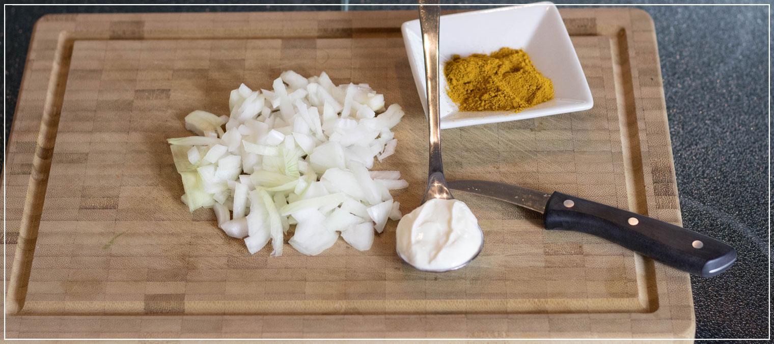 Gnocchi, Currysauce, Rezept, schnelle Küche, Mittagessen, Lunch, Rezeptidee