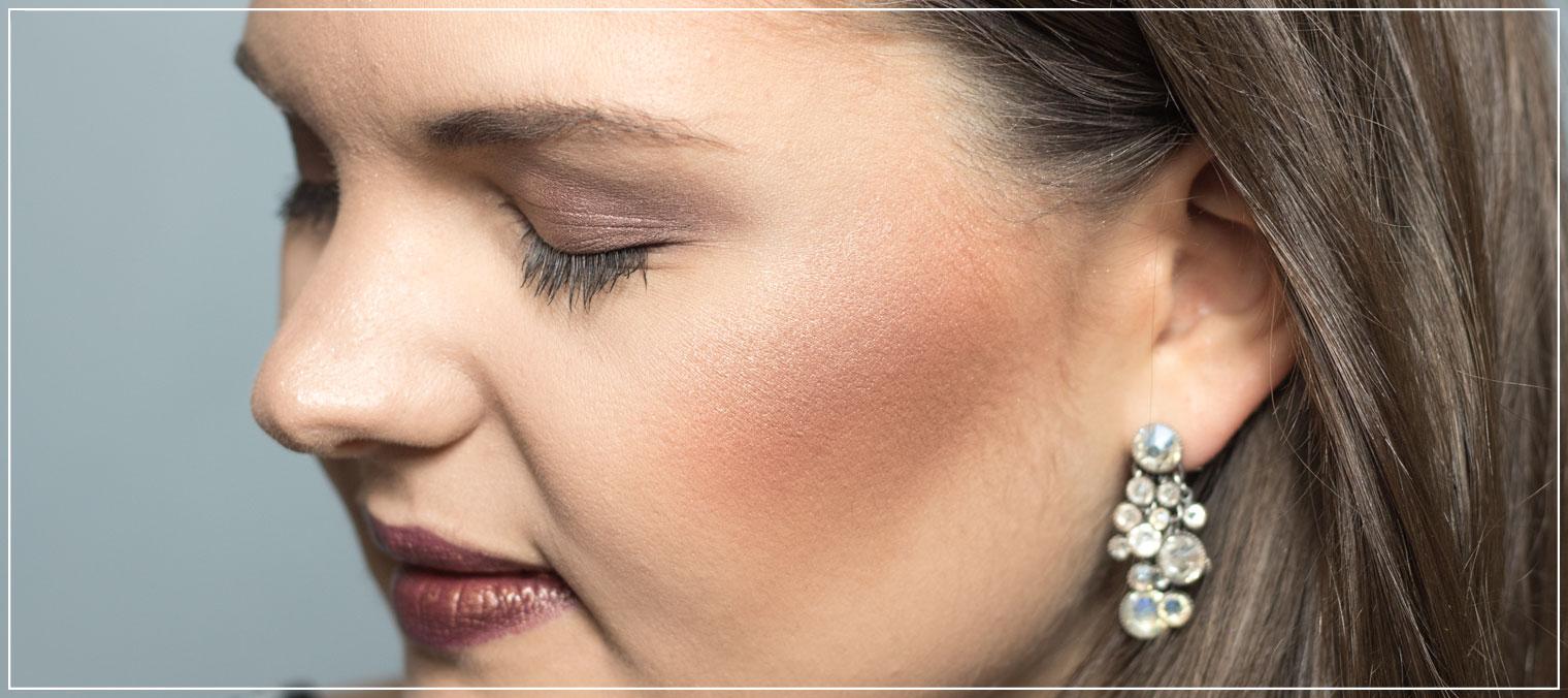 Herbst Make-Up, Make-Up Tutorial, Autumn Make-Up, Brauntöne, Lidschatten, shiny Make-Up