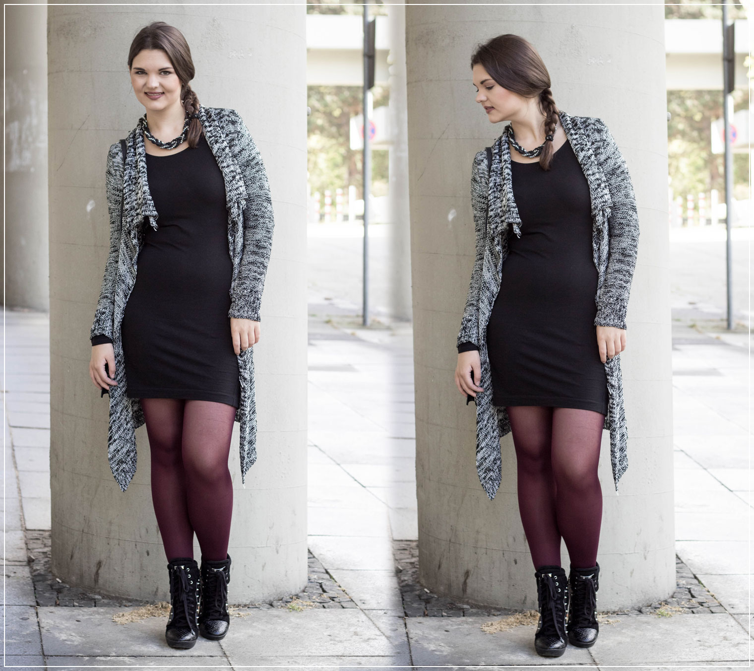 Basic Kleid, Hingucker, Herbststyle, Herbstlook, Outfitinspiration, Fashionblogger, Streetstyle, Herbstoutfit, Fashionblog, Ruhrgebiet