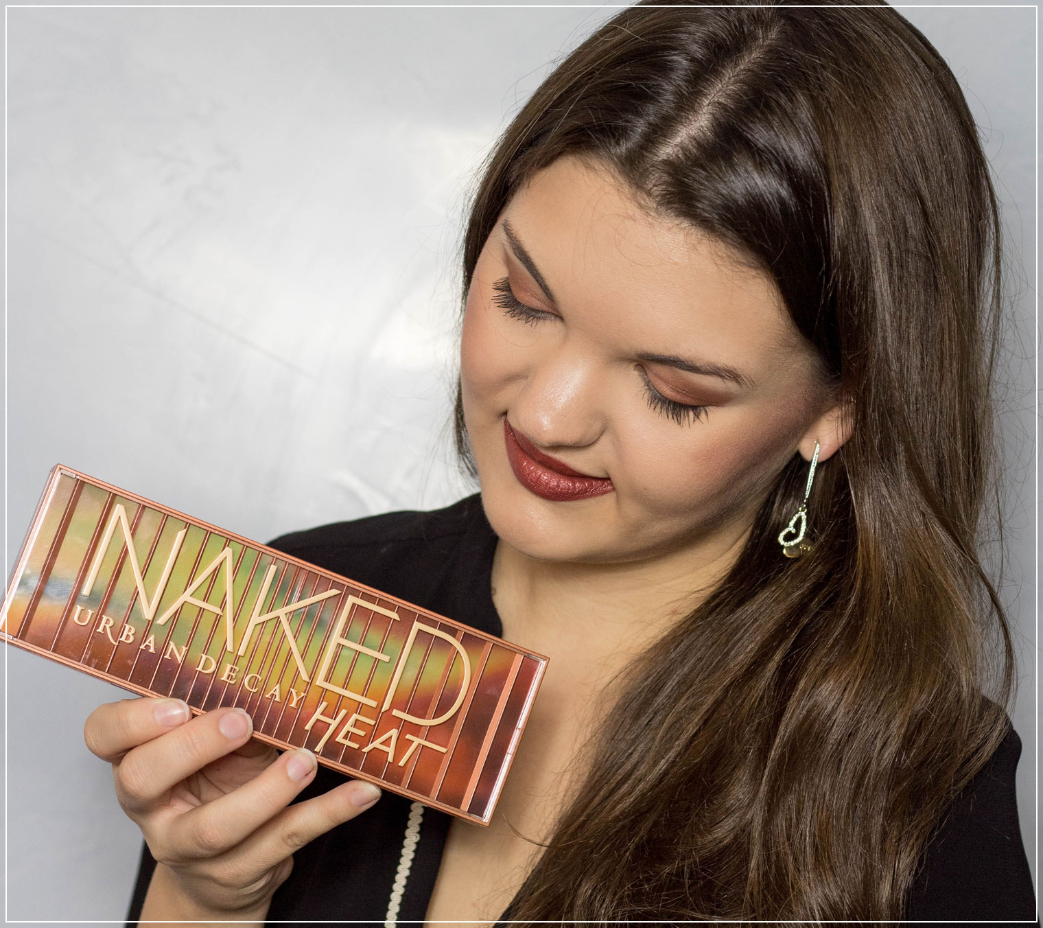 Herbst Make-Up, Make-Up Tutorial, Autumn Make-Up, Lidschattenpalette, Naked Heat Palette, Urban Decay, Naked Heat Review