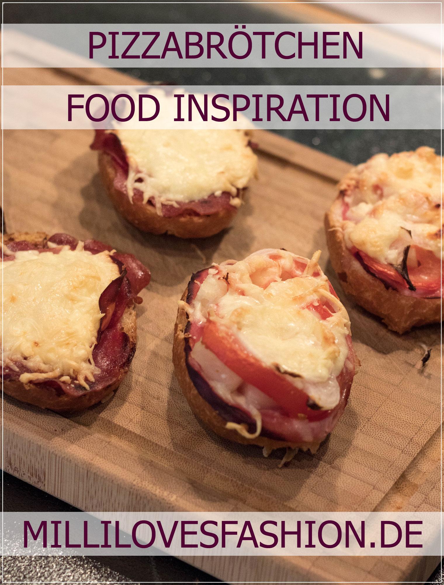 Pizzabrötchen, Pizza, Snack, Rezept, schnelle Küche, Mittagessen, Lunch, Rezeptidee