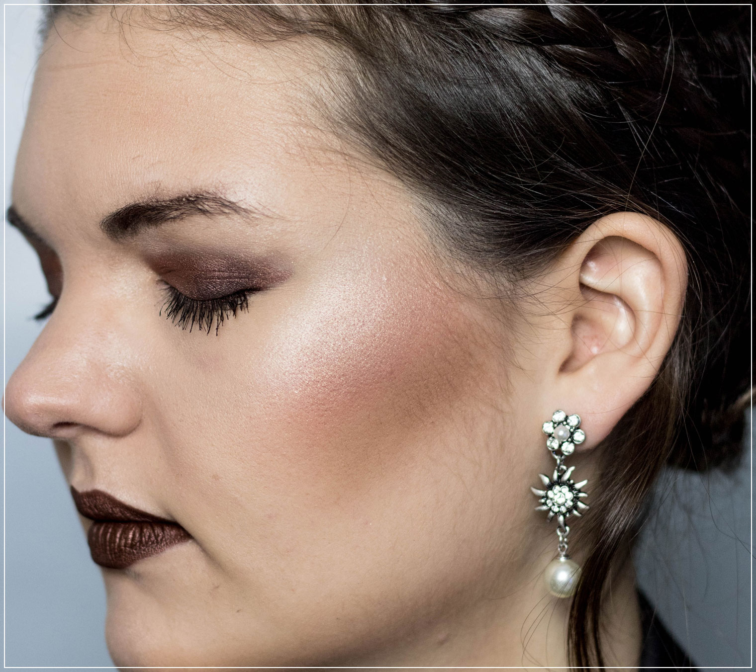 Herbst Make-Up, Make-Up Tutorial, Autumn Make-Up, Lidschattenpalette, Naked Heat Palette, Urban Decay, Naked Heat Review, Metallic Braun, NYX Liquid Suede, New Era