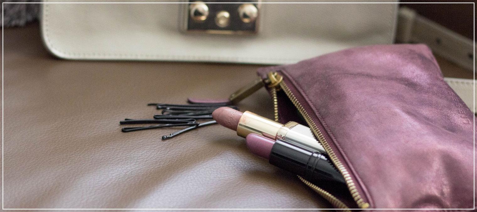 Handtasche, Must Haves, Whats in my bag, Lippenstift, Kosmetiktasche, Liebeskind Berlin
