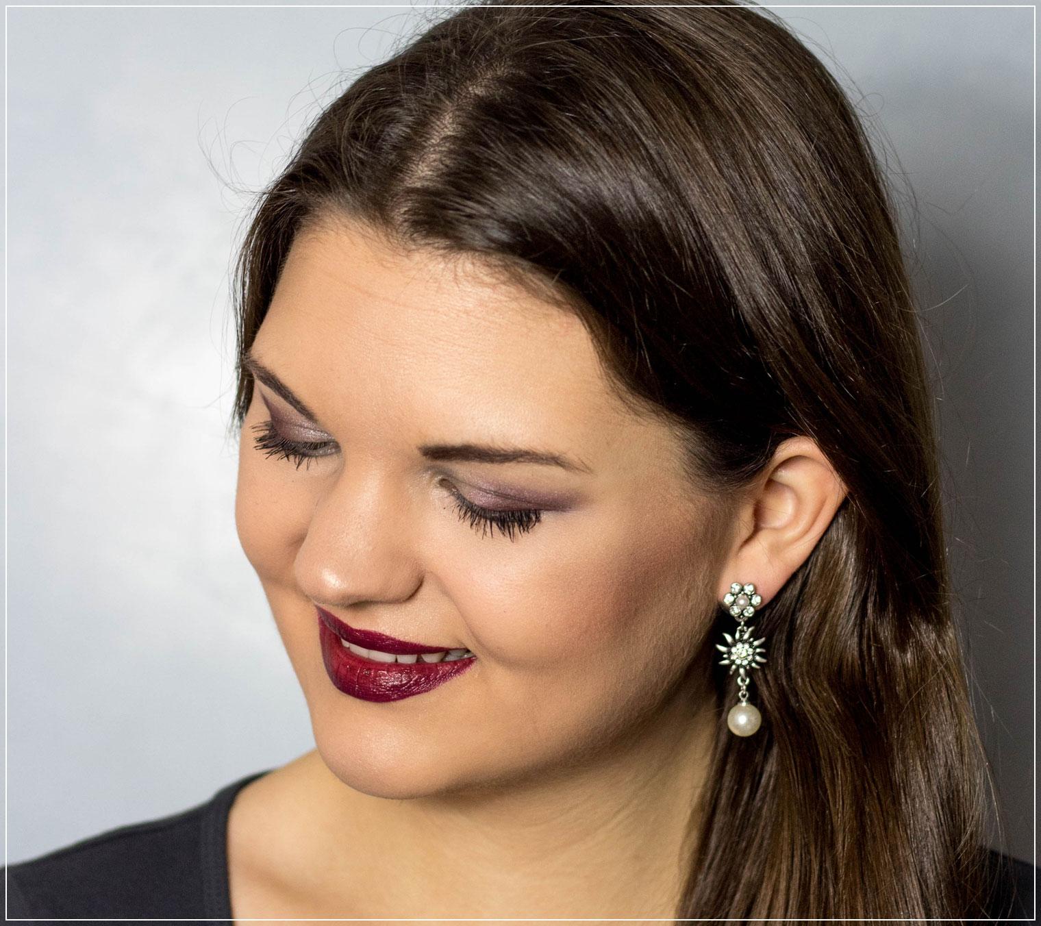 Winter Make-Up, Make-Up Tutorial, festliches Make-Up, Weihnachtsmakeup, Holiday Season, Festive Season