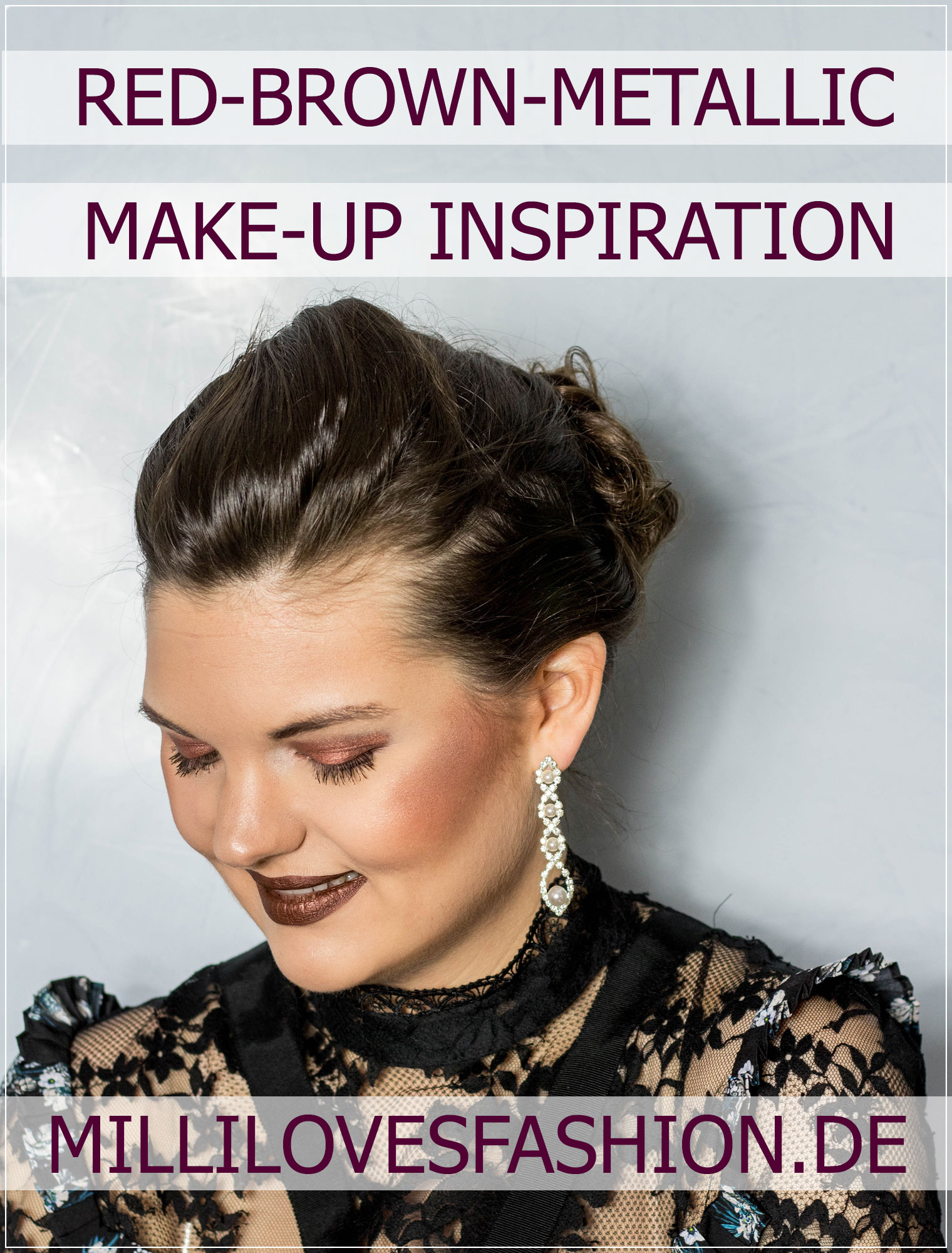 Metallic-Make-Up, Abendmahl-up, Naked Heat Tutorial, Naked Heat Palette, Beautytutorial, Make-up Tutorial, Beauty Blog, Beautybloggerin, Ruhrgebiet