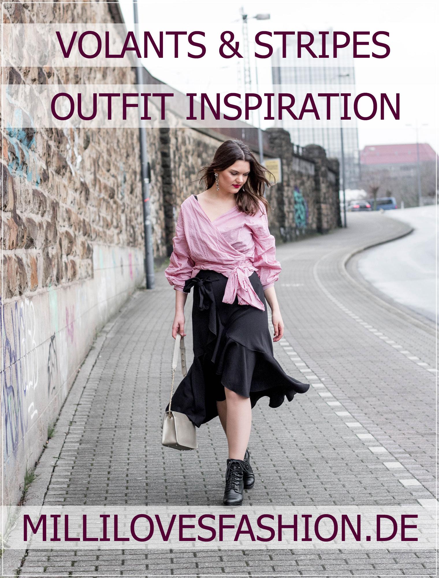 modische Statements, Frühjahrstrends, Volants, Streifen, Schleifen, Modetrends, Springstyle, Modebloggerin, Winteroutfit, Fashionbloggerin, Modeblog, Ruhrgebiet