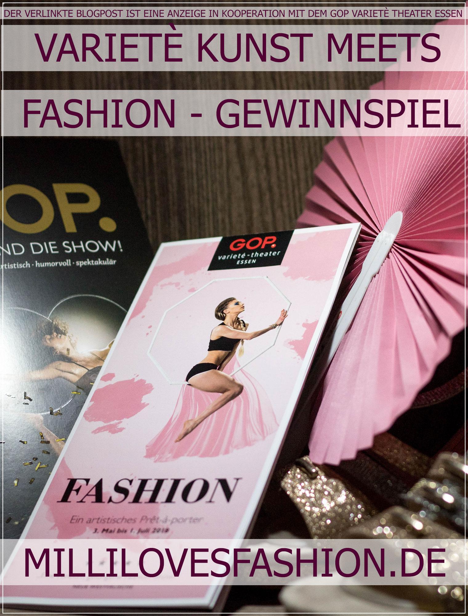 GOP Varieté Theater Essen, GOP Varieté, Fashion, Mode, Gewinnspiel, Theater, Modebloggerin, Fashionbloggerin, Modeblog, Ruhrgebiet