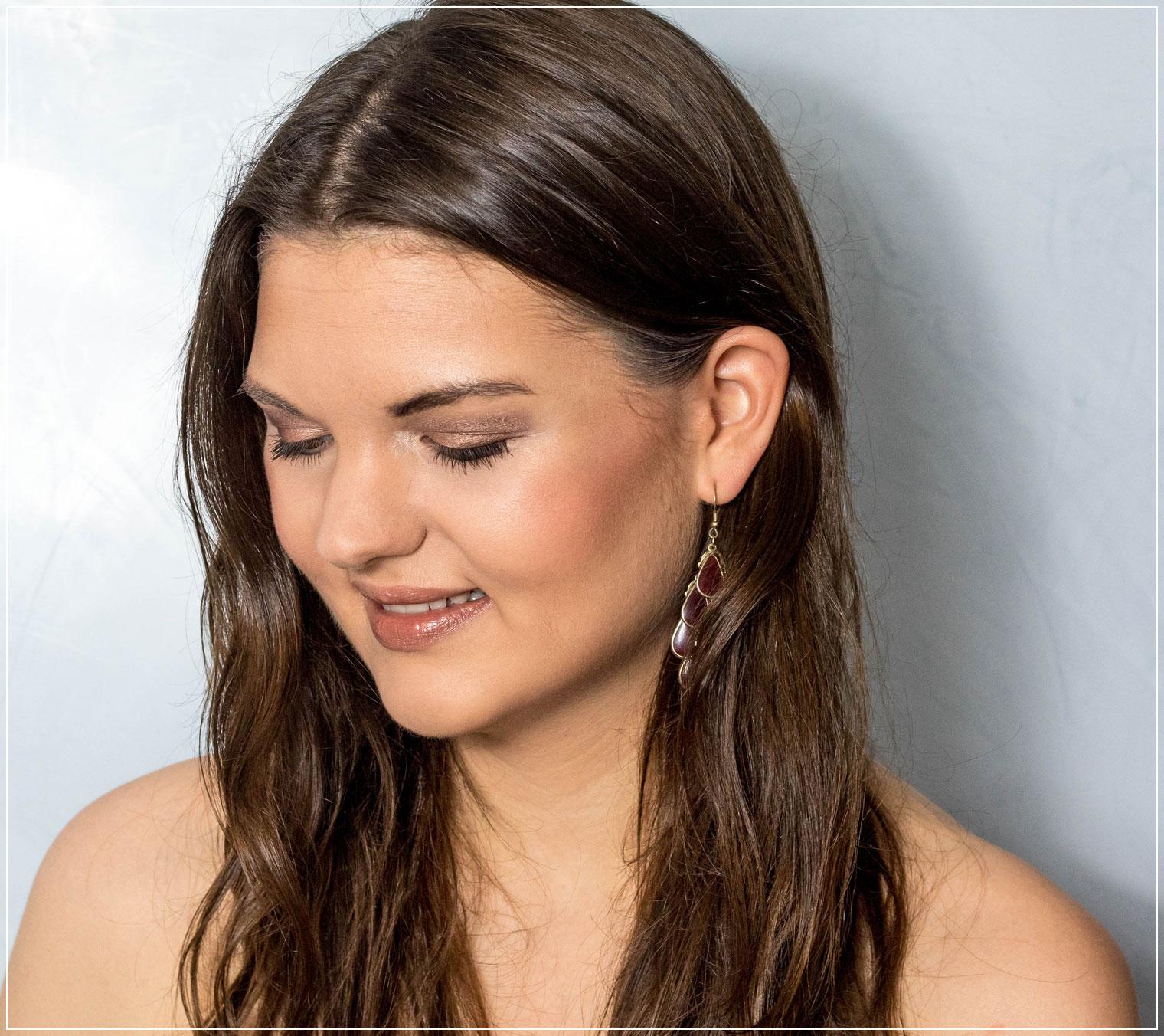 Metallic-Make-Up, Tagesmake-up, Zoeva Palette, Roségoldenes Make-Up, Beautytutorial, Make-up Tutorial, Beauty Blog, Beautybloggerin, Ruhrgebiet