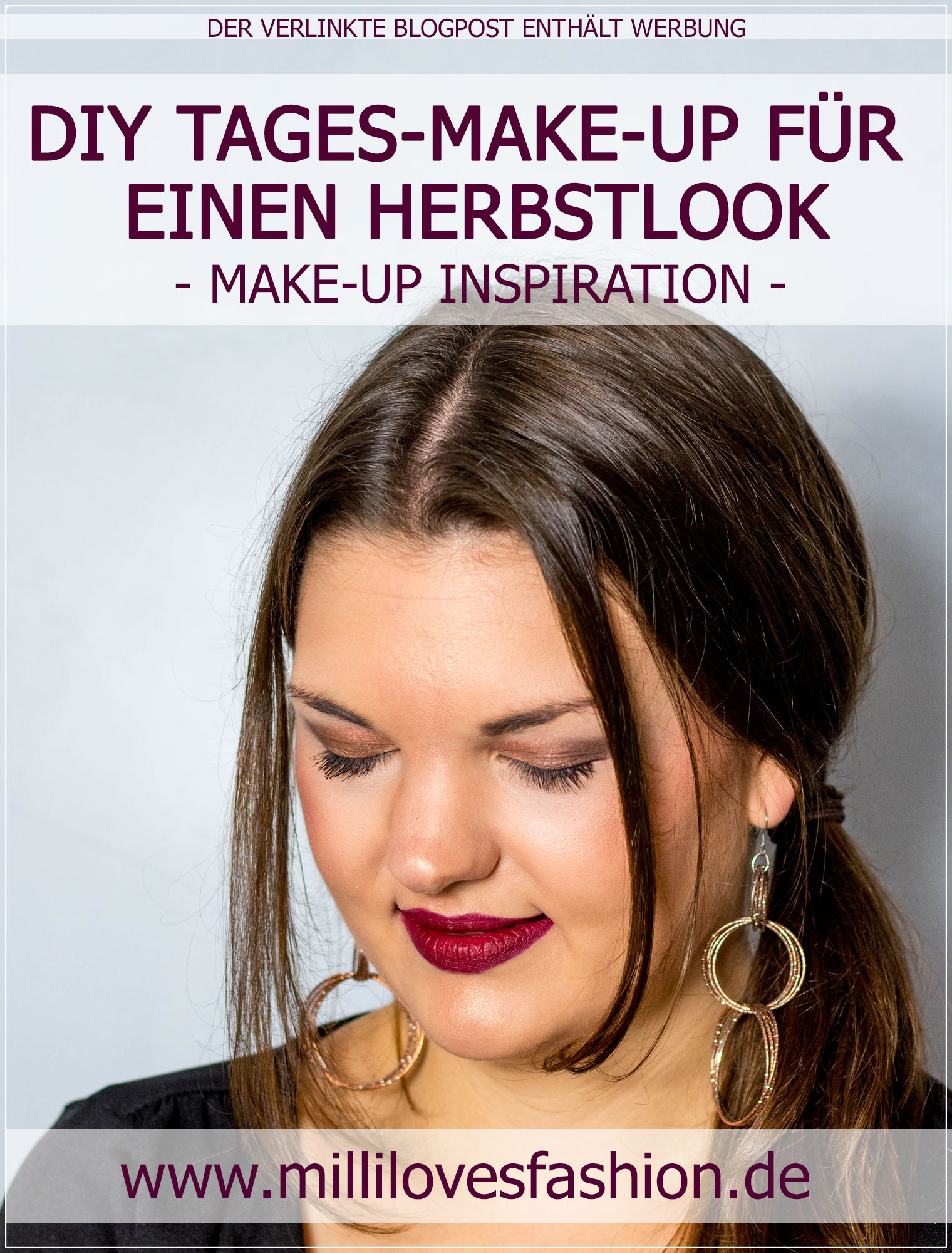 Herbst-Make-Up, Tages-Make-up, Herbstlook, Herbstfarben, Make-Up Tutorial, Beauty Blog, Beautybloggerin, Ruhrgebiet