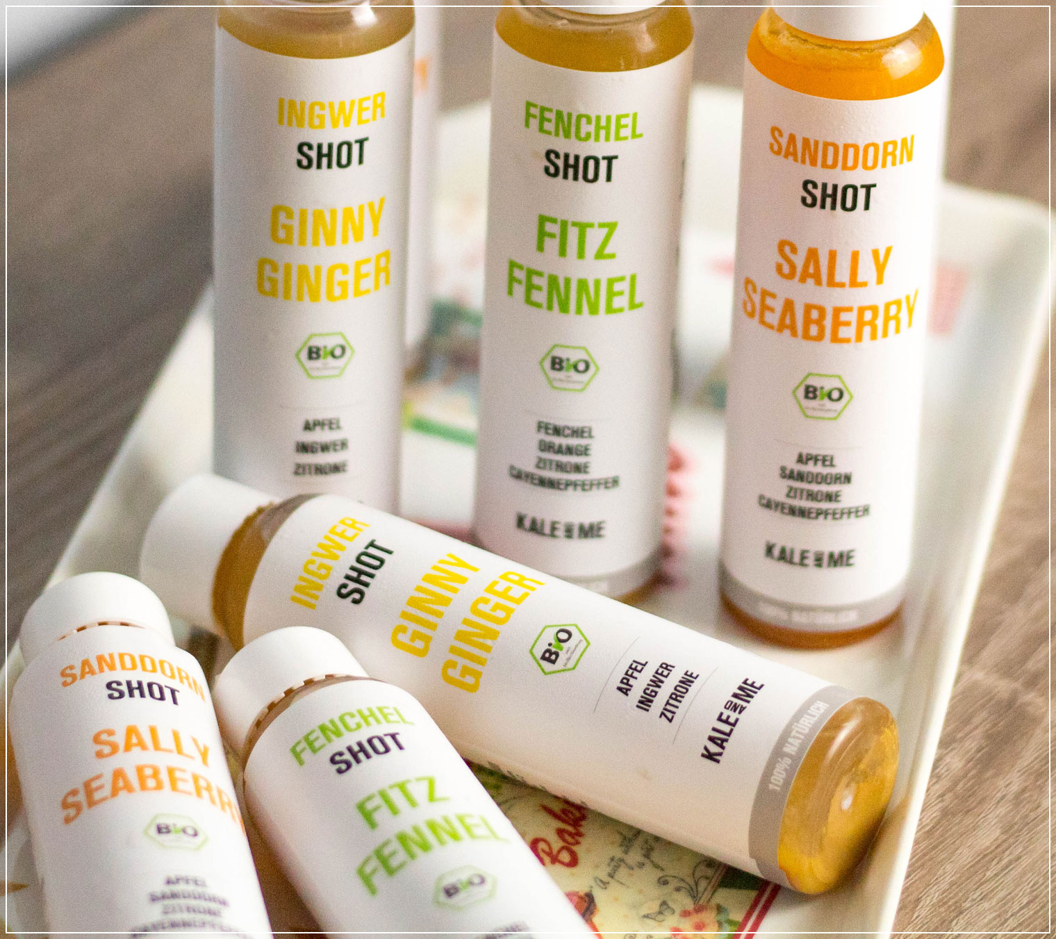 Kale and Me, Shots, Ingwer Shot, kaltgepresst, Saftkur, Vegan, Foodblogger, Kale and Me Review, Energie Kick