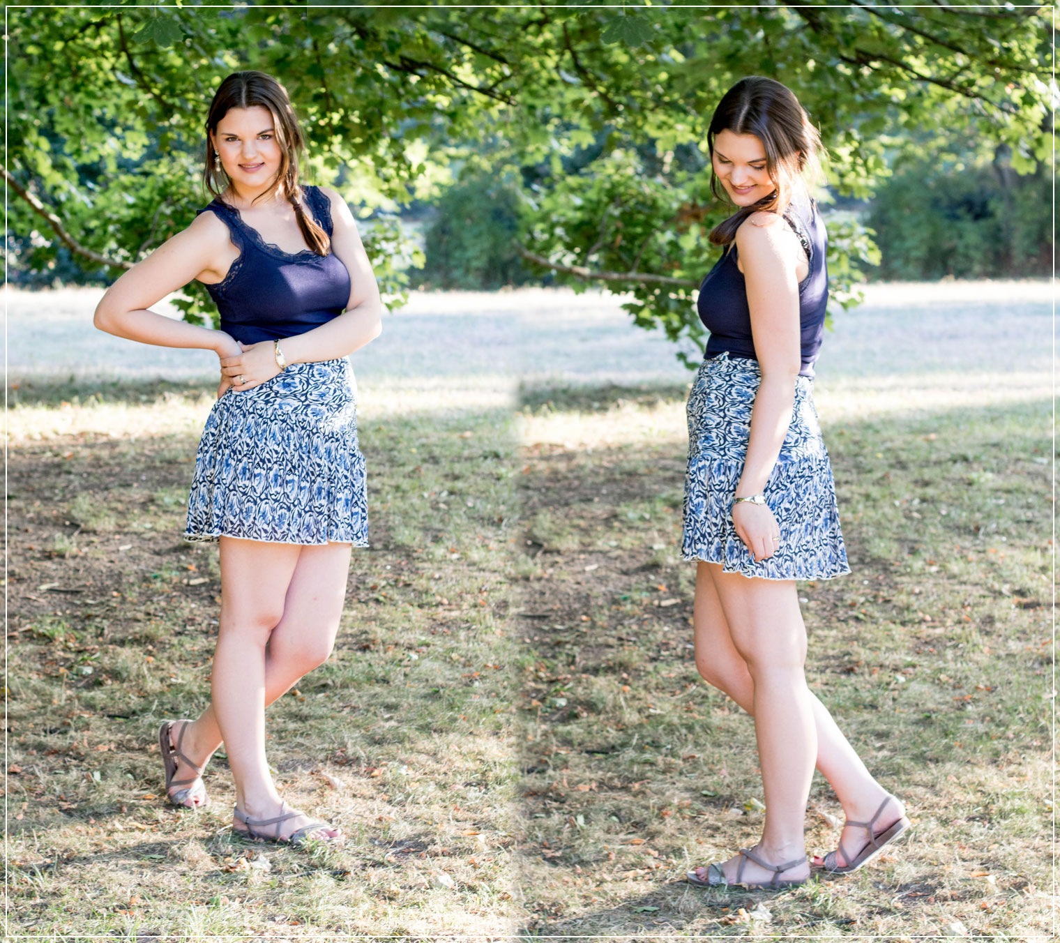 Materialkunde, Sommermaterialen, Chiffonrock, Spitzentop, Chiffon, Leipzig, Sommeroutfit, Outfitinspiration, Summerstyle, Boho, Modebloggerin, Fashionbloggerin, Modeblog, Ruhrgebiet