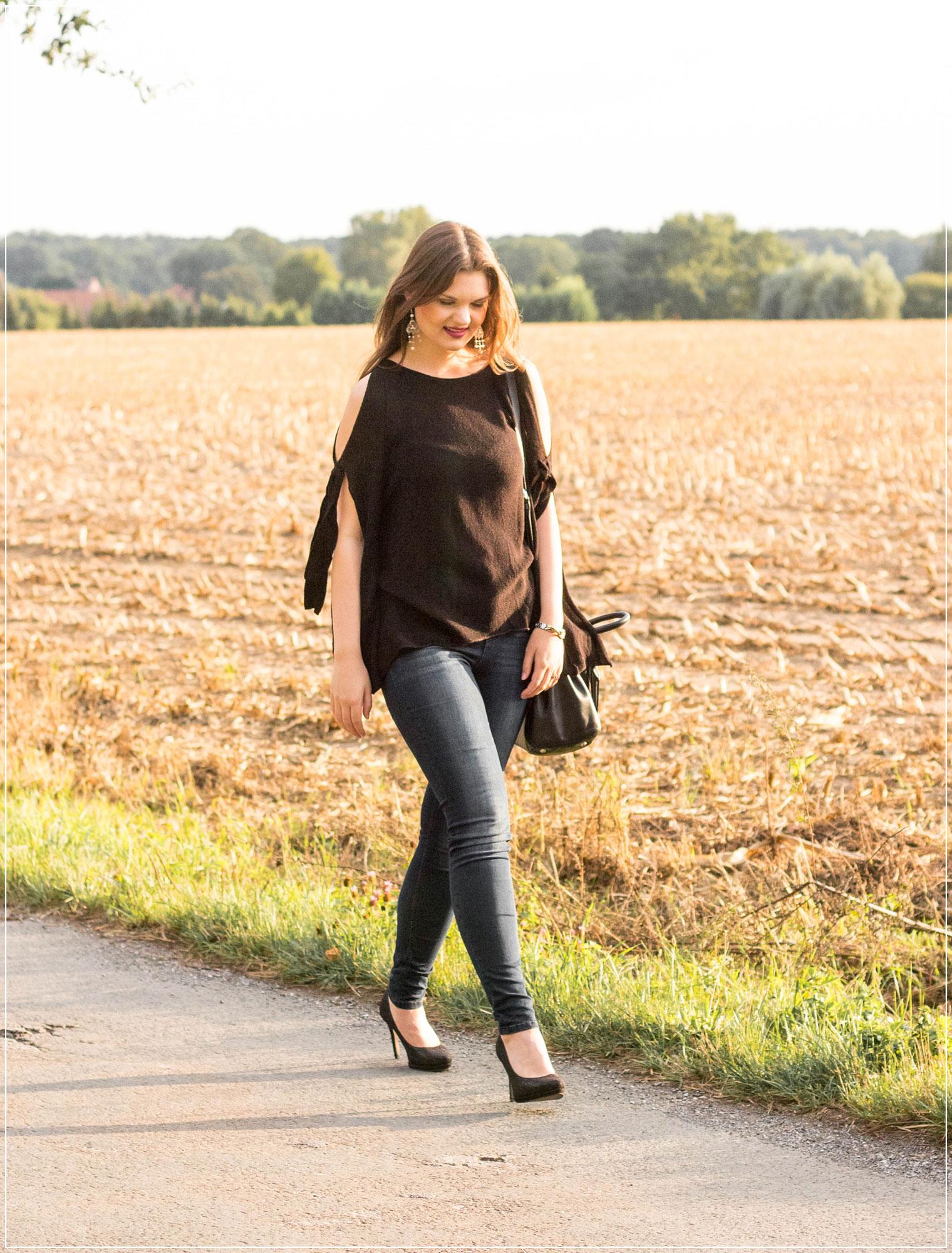 Alltagslook, Tipps für einen Alltagslook, Basic Style, Golden Hour, Herbstoutfit, Herbstlook, Outfitinspiration, Autumnstyle, Abendoutfit, Modebloggerin, Fashionbloggerin, Modeblog, Ruhrgebiet
