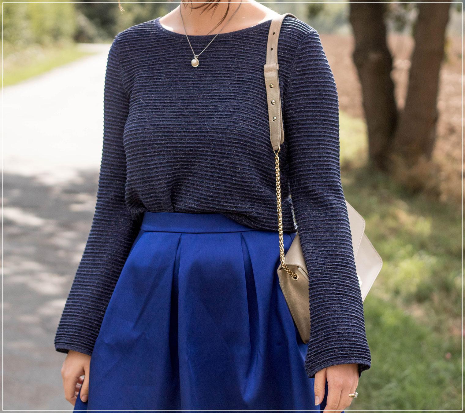 Royal Blau, Königsblau, Trendfarbe, Modetrend, eleganter Style, Herbstoutfit, Herbstlook, Outfitinspiration, Autumnstyle, Abendoutfit, Modebloggerin, Fashionbloggerin, Modeblog, Ruhrgebiet