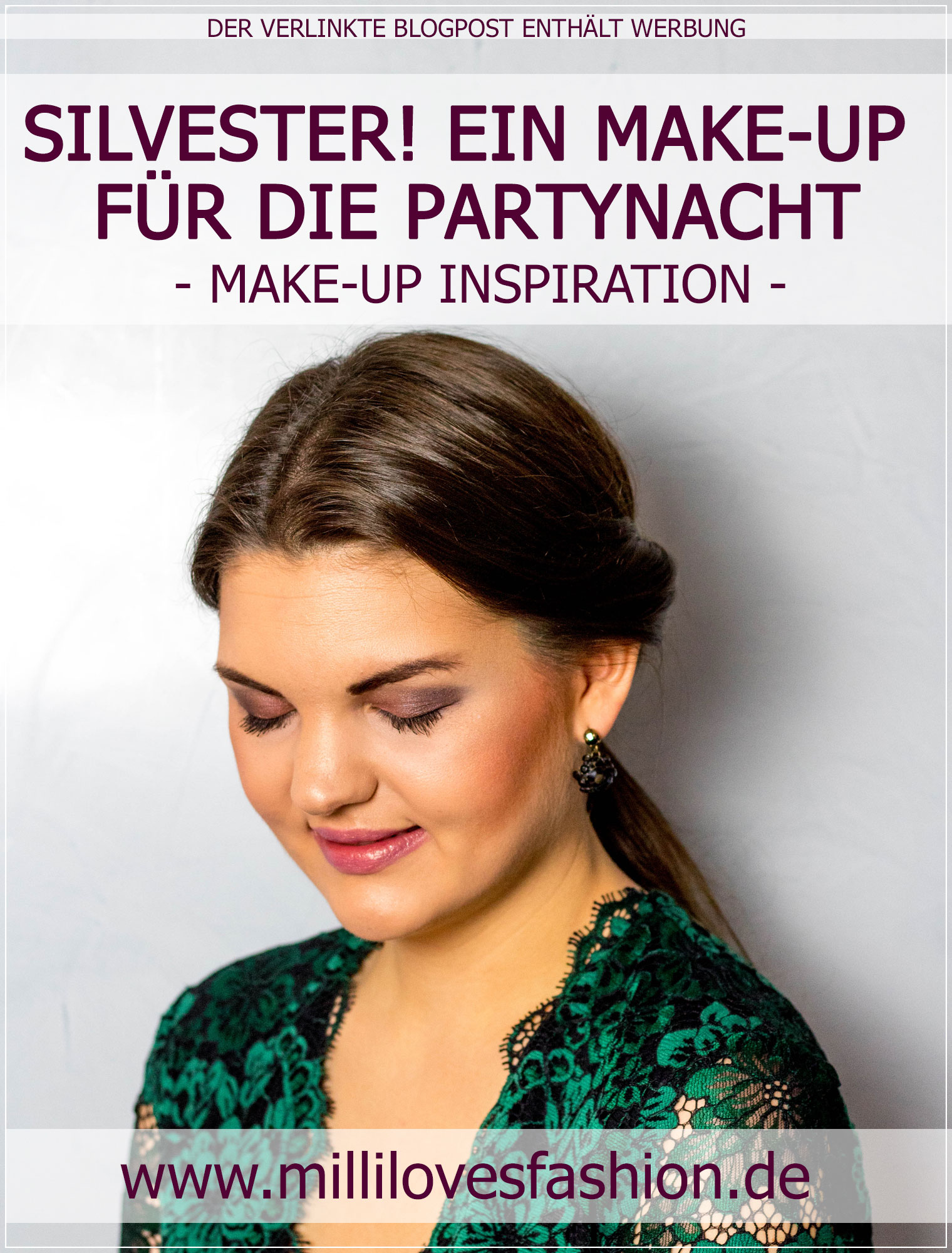 Silvester-Make-Up, Party-Make-Up, Abend-Make-Up, Smokey Eyes, Make-Up Tutorial, Beauty Blog, Beautybloggerin, Ruhrgebiet
