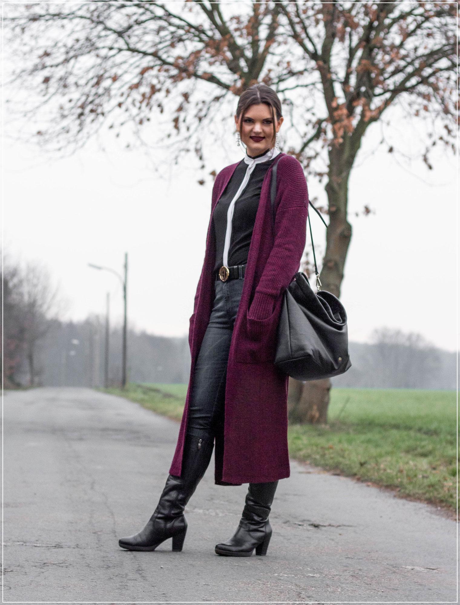 Strickmantel, Bürolook, Jeanslook, Winterlook, Outfitinspiration, Bloggeroutfit, Longcardigan, Outfitinspiration, Winterstyle, Alltagslook, Modebloggerin, Fashionbloggerin, Modeblog, Ruhrgebiet