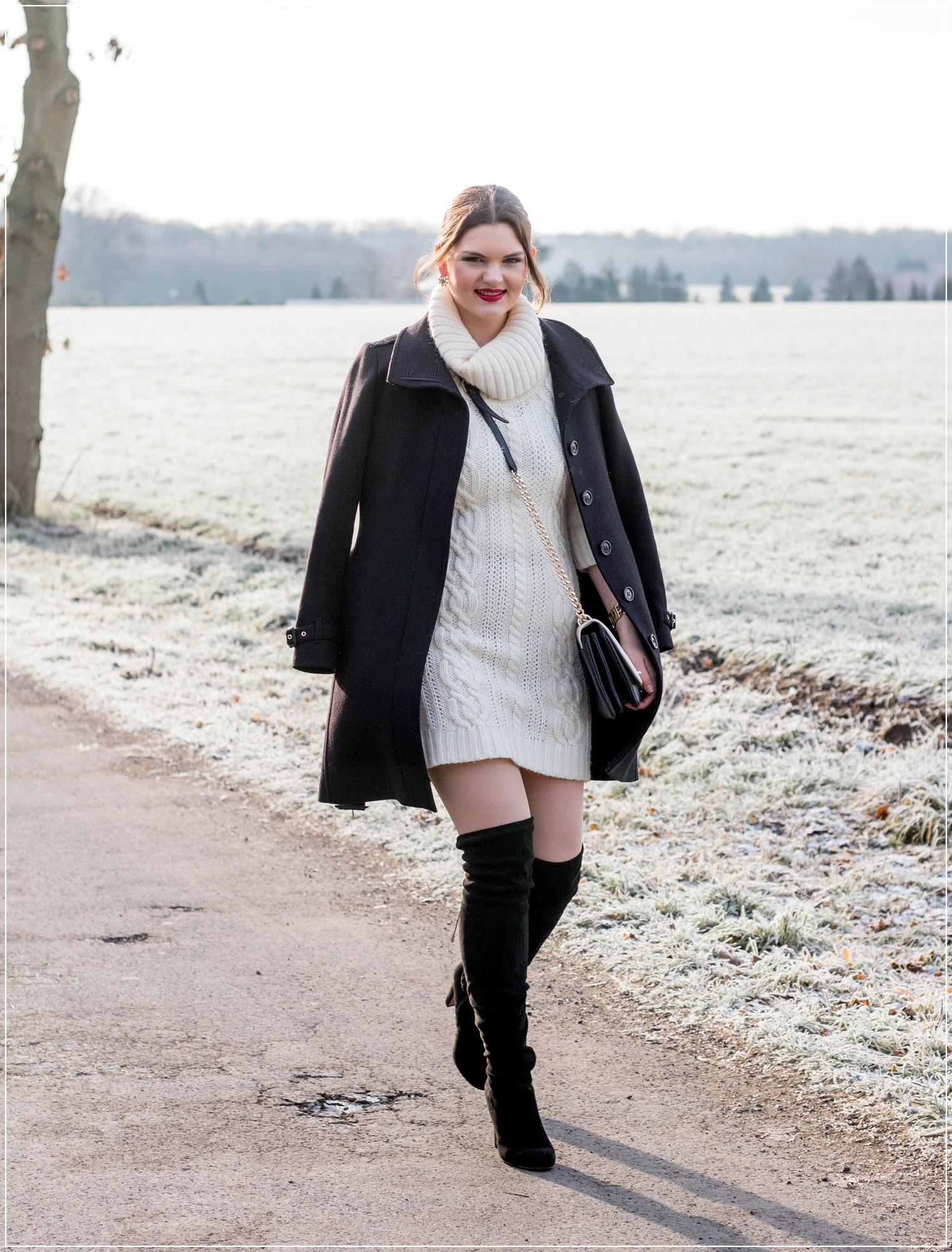 Wollkleid, Strickkleid, Winteroutfit, Materialpflege, Pflegetipps, Styleguide, Winterkleid, Outfitinspiration, Winterstyle, Alltagslook, Modebloggerin, Fashionbloggerin, Modeblog, Ruhrgebiet