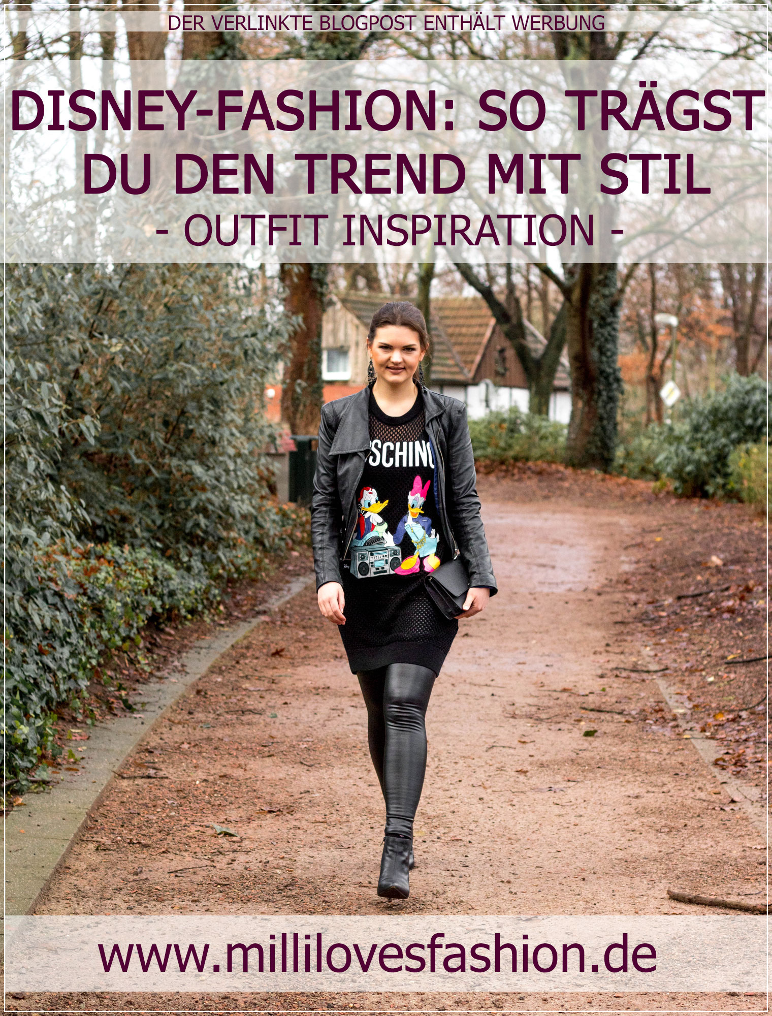 Disney-Print, Disney-Fashion, Disney, Disney-Mode, Modetrend, Styleguide, Outfitinspiration, Winterstyle, Alltagslook, Modebloggerin, Fashionbloggerin, Modeblog, Ruhrgebiet