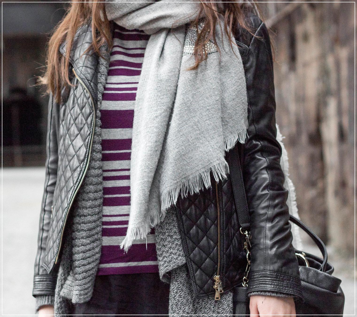 Layering-Look, Layering, Lederjacke, Fruehlingslook, Layering kombinieren, Modetrend, Styleguide, Outfitinspiration, Winterstyle, Alltagslook, Modebloggerin, Fashionbloggerin, Modeblog, Ruhrgebiet