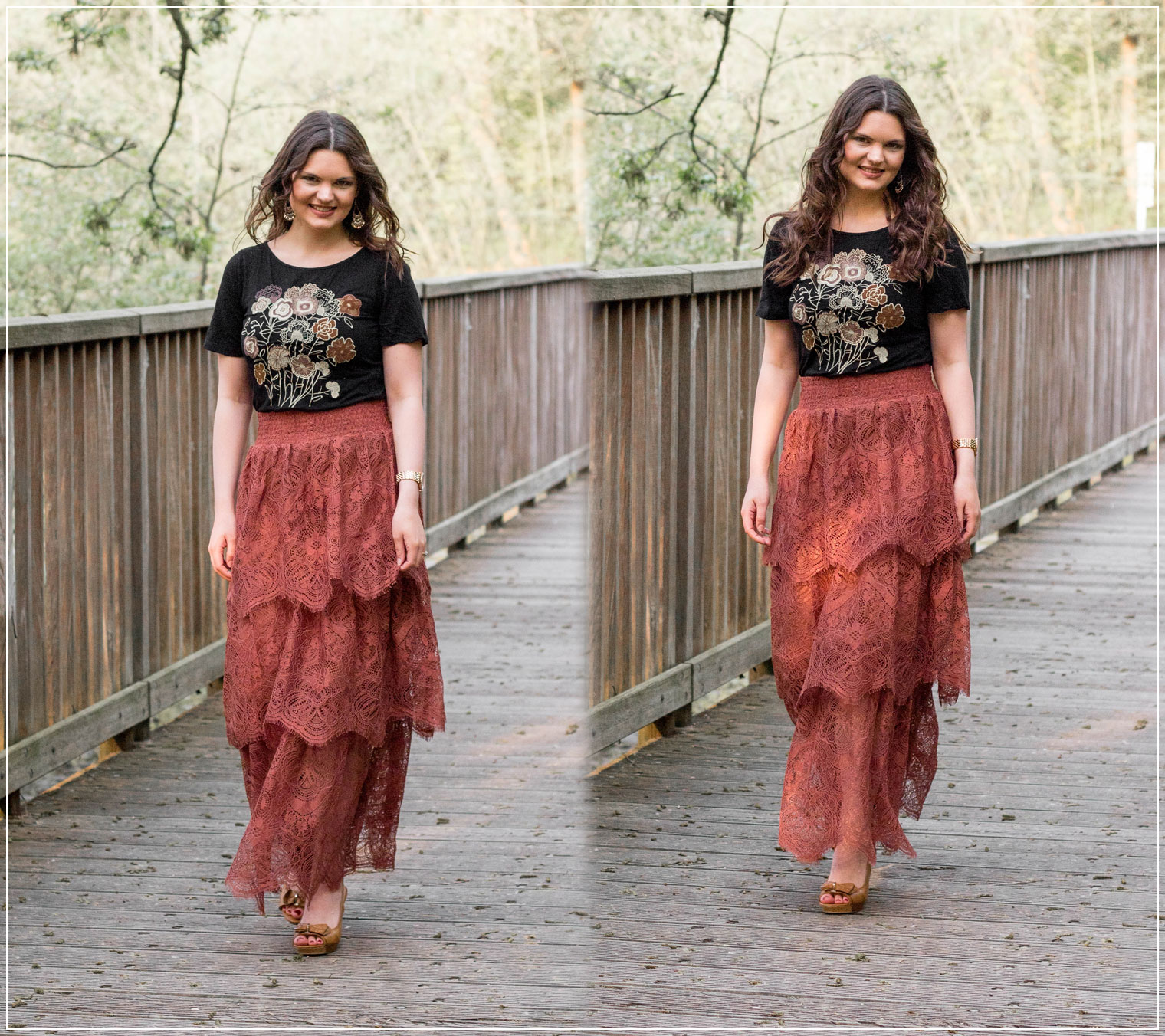 Boho-Style, Boho-Rock, Midi-Rock, Festival Look, Sommerlook, Sommeroutfit, Styleguide, Outfitinspiration, Modebloggerin, Fashionbloggerin, Modeblog, Ruhrgebiet