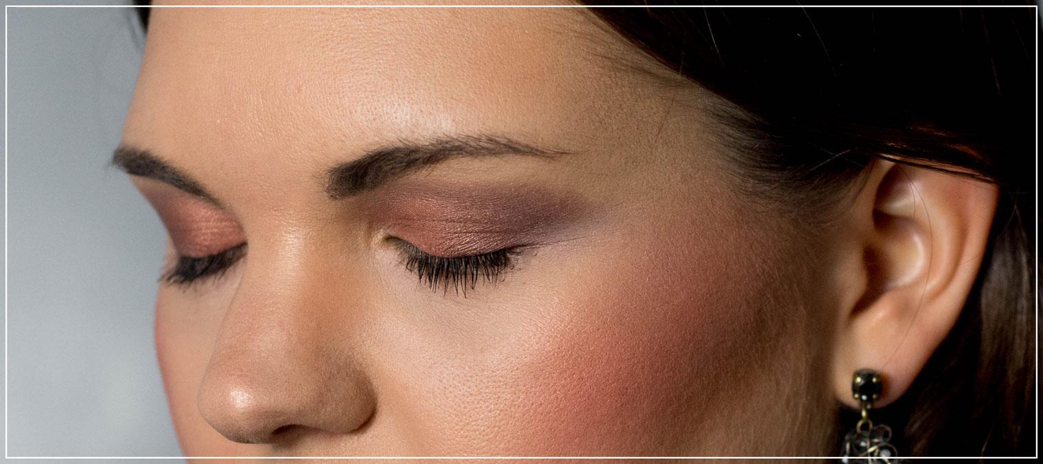 Rotgold, Sommer-Make-Up, Becca Bronzer, Tages-Make-Up, Lidschatten-Palette Beautytutorial, Make-up Tutorial, Beauty Blog, Beautybloggerin, Ruhrgebiet