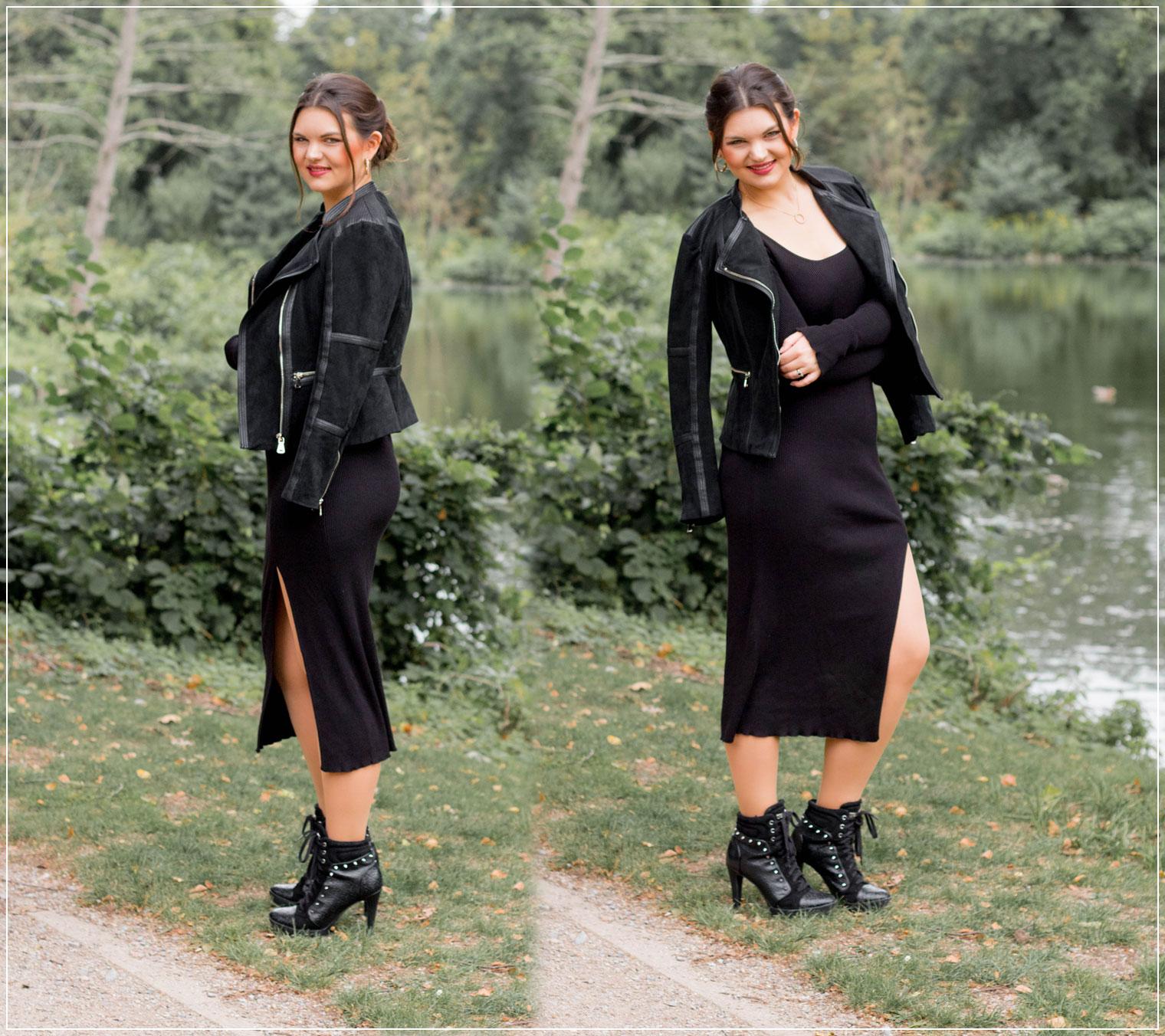 Rippenstrick, Herbstlook, Herbststyle, Herbstoutfit, Rockiger Herbstlook, Modetrend, Styleguide, Outfitinspiration, Modebloggerin, Fashionbloggerin, Modeblog, Ruhrgebiet