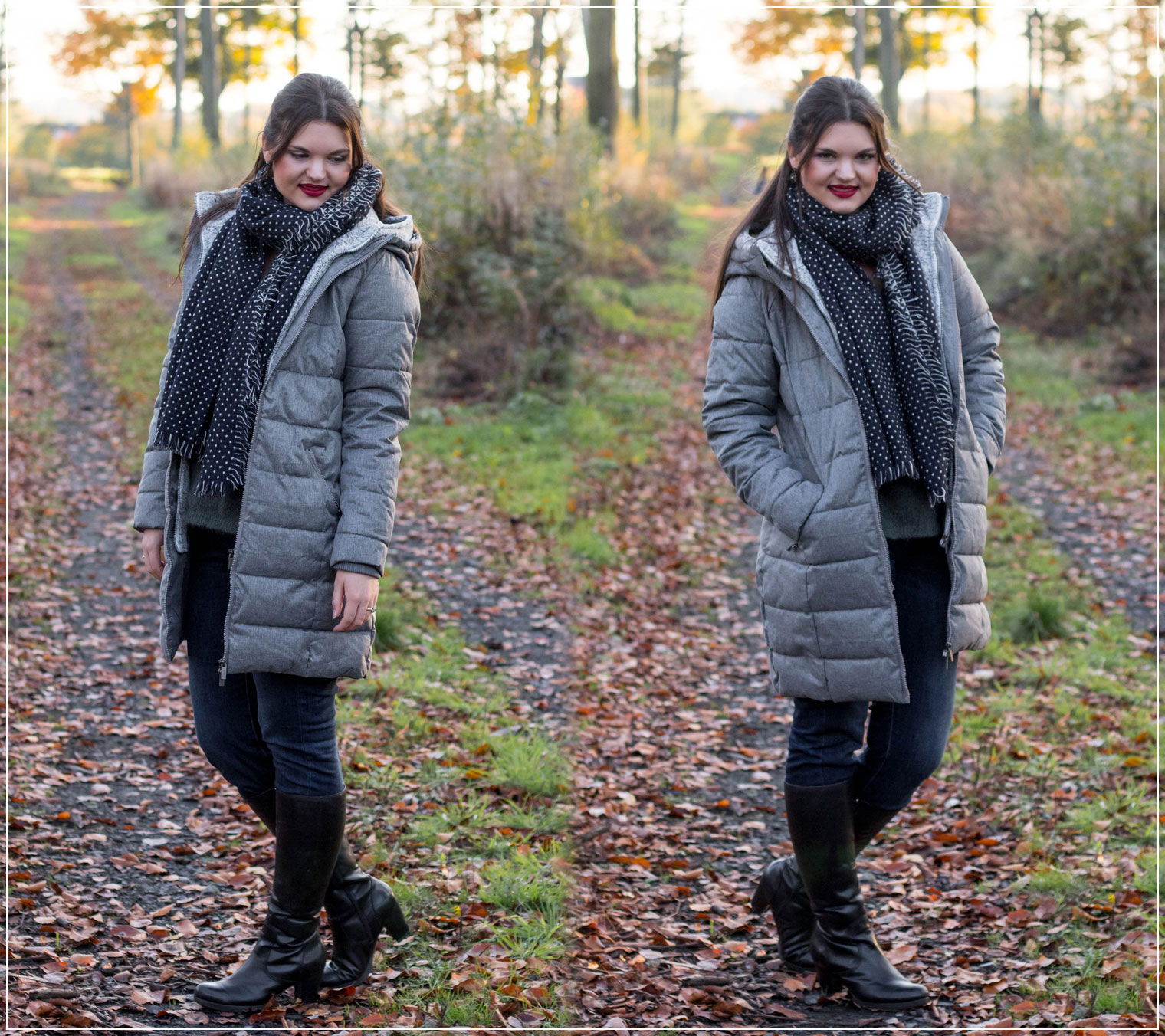 Steppjacke, Winteroutfit, Jeans Fritz, Winterstyle, Winterlook, Styleguide, Outfitinspiration, Modebloggerin, Fashionbloggerin, Modeblog, Ruhrgebiet