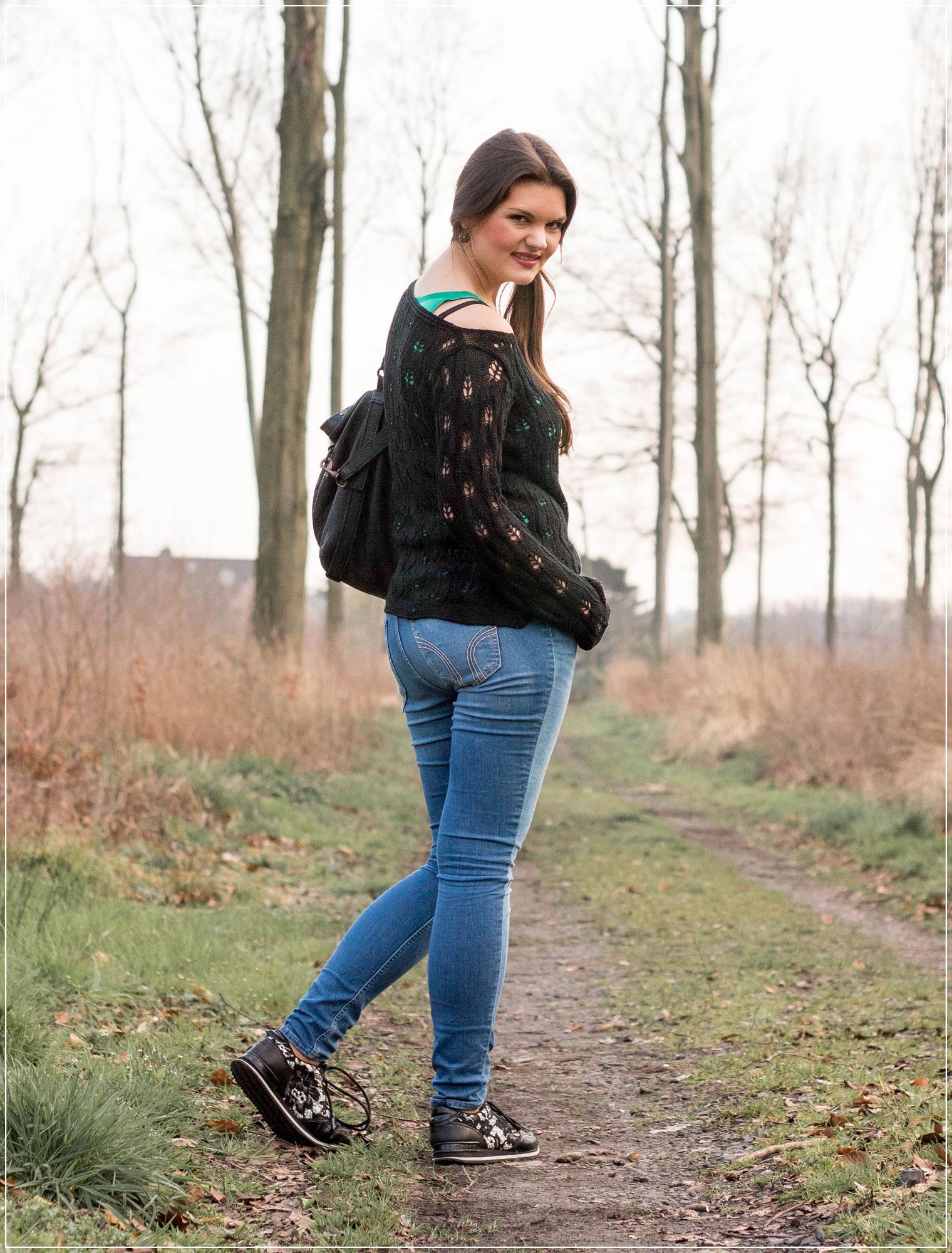 Modetrend, Strick im Frühling kombinieren, sportlicher Fruehlingslook, Spring Style, Outfitinspiration, Modebloggerin, Fashionbloggerin, Modeblog, Ruhrgebiet