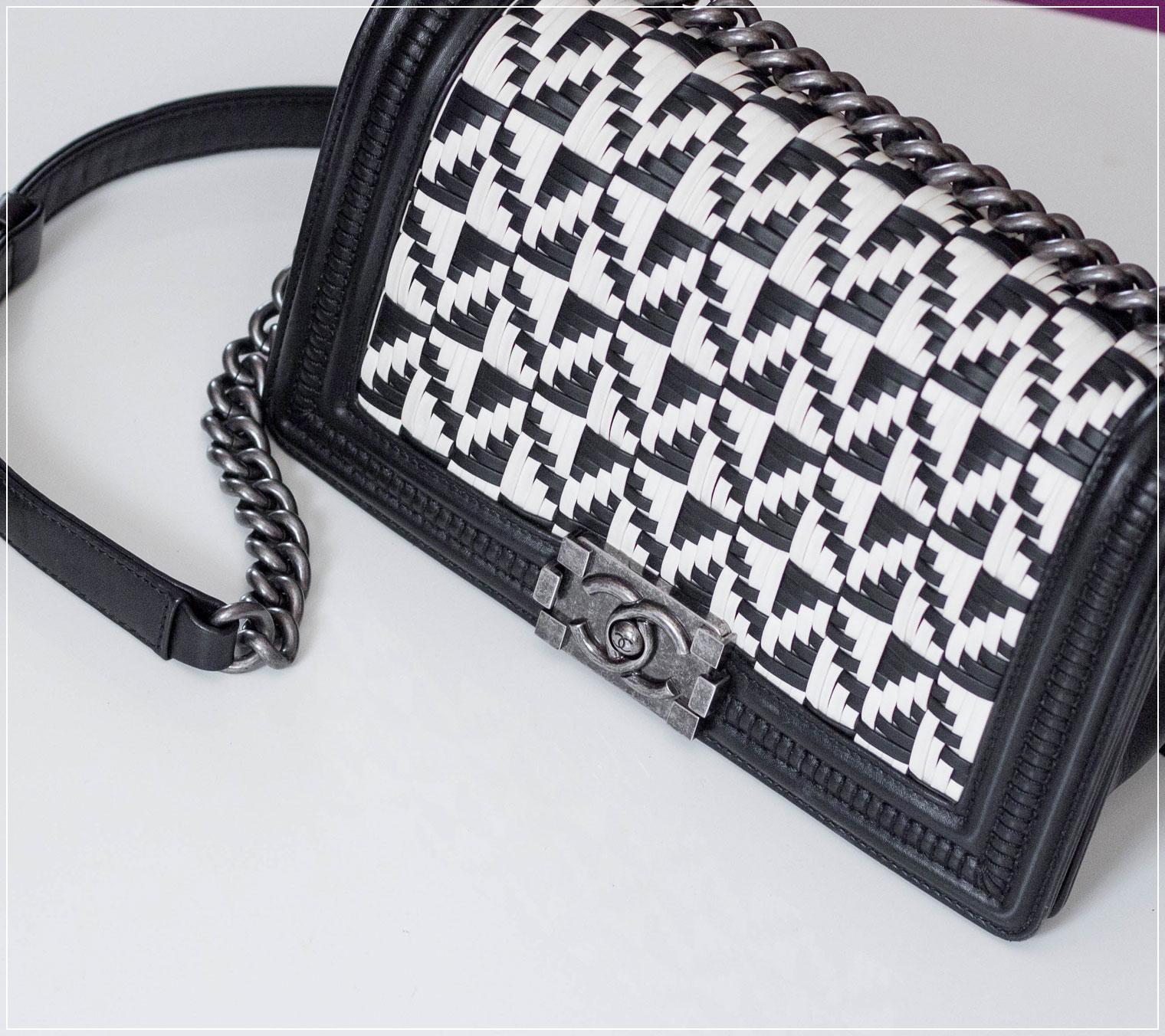 Vintage-Handtasche, Shopping-Tipps, Designer-Handtasche, Vintage-Chanel, preloved Designerteil, Fashionblog, Vintage Chanel Boy Bag, Online-Vintage-Shop, Vintage Tasche online kaufen