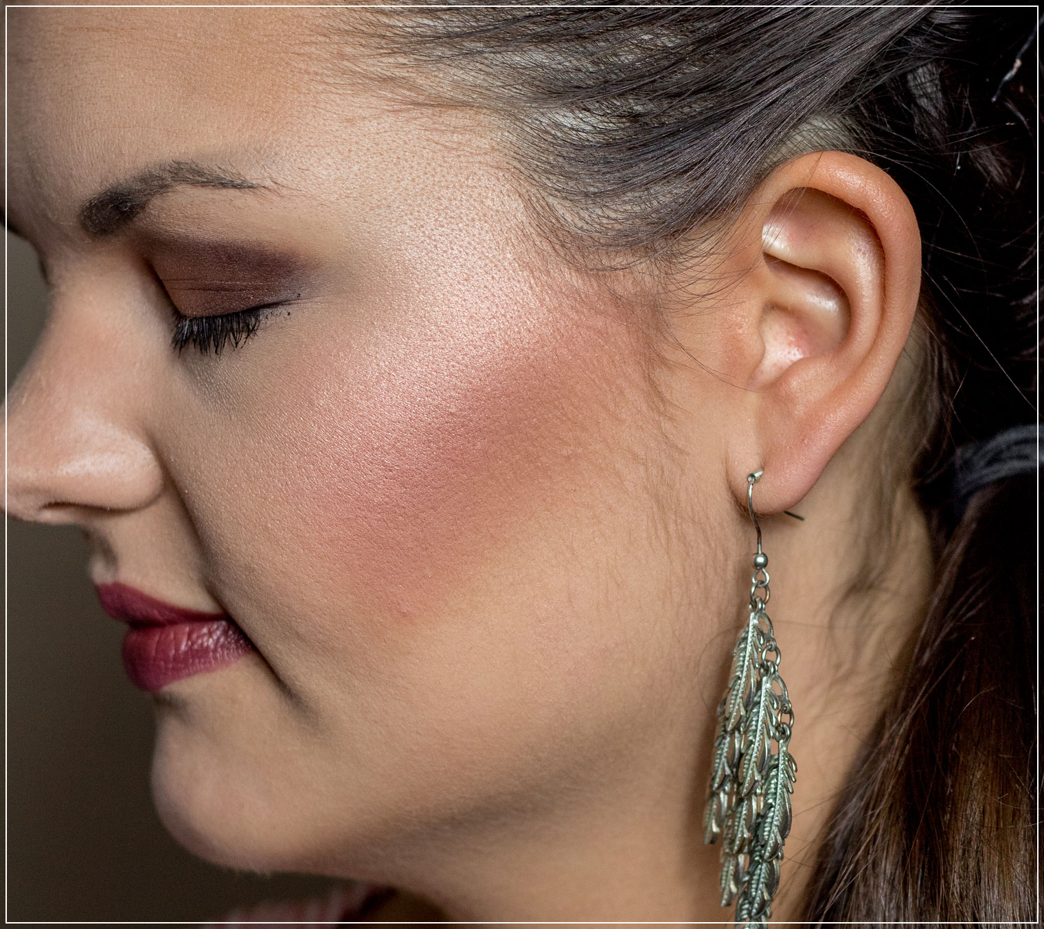 Detailansicht Wangen-Make-Up