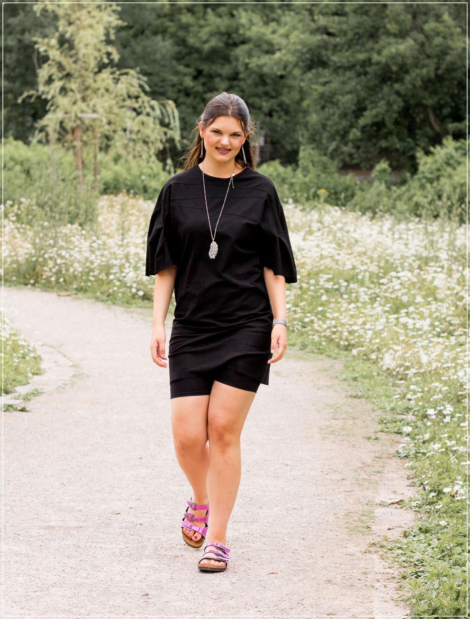Radlershorts, Radlerhosen, Radler kombinieren, Sommeroutfit , Sommerlook, Biker Shorts, Outfitinspiration, Modebloggerin, Fashionbloggerin, Modeblog, Ruhrgebiet