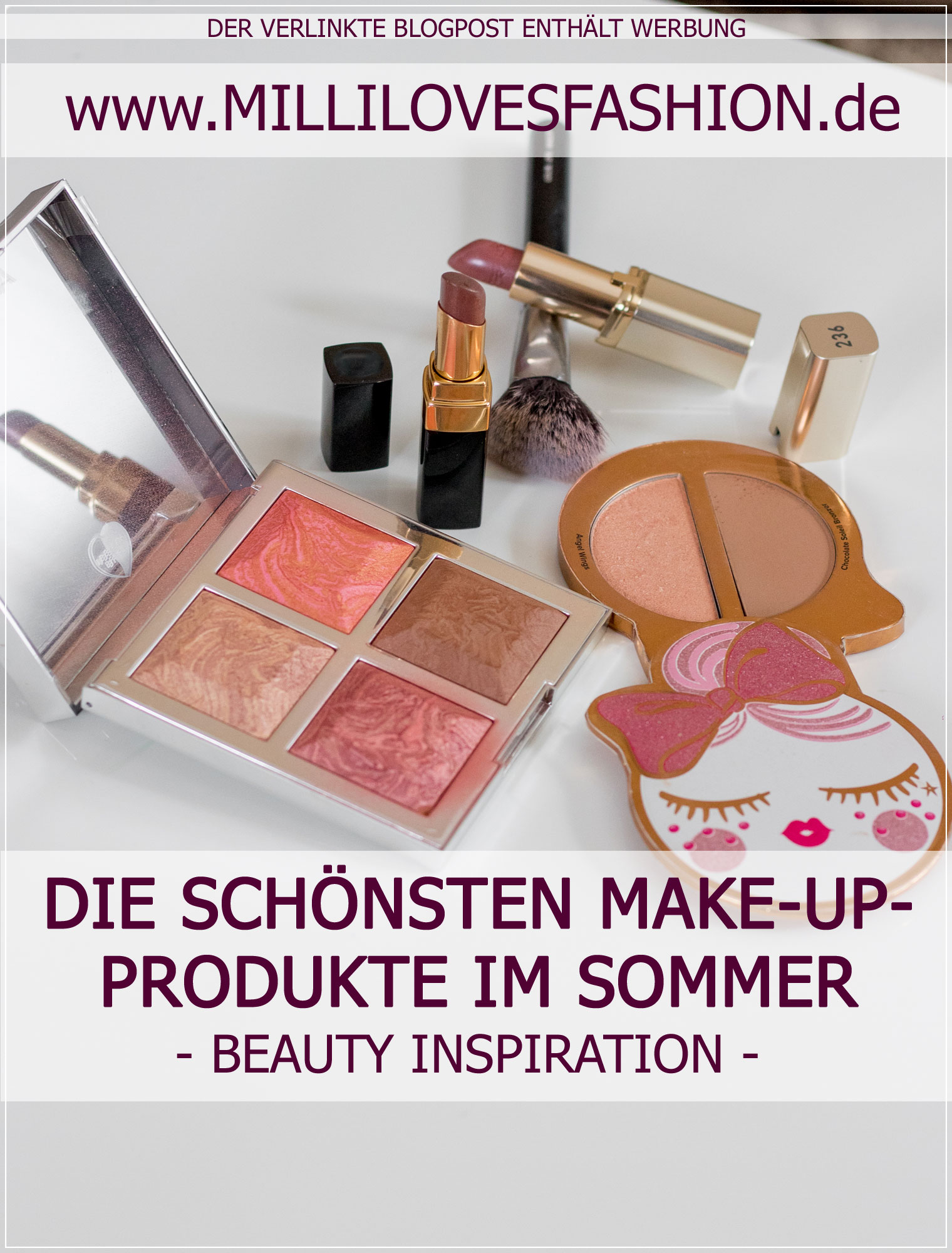 Make-Up-Produkte, Sommer-Make-Up, Beautyblog, Beautyinspiration, Summer-Make-Up, Alltagsmake-Up, Bloggerin, Fashionblog