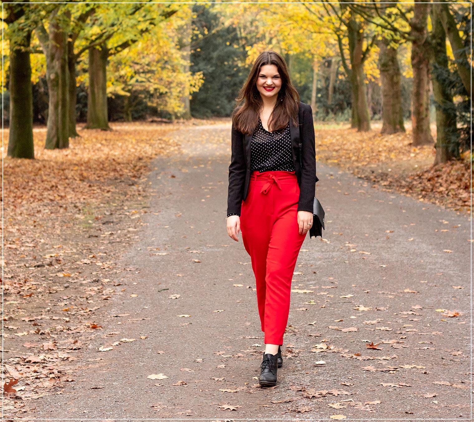 Der Wald als Fotospot für Blogger im Herbst