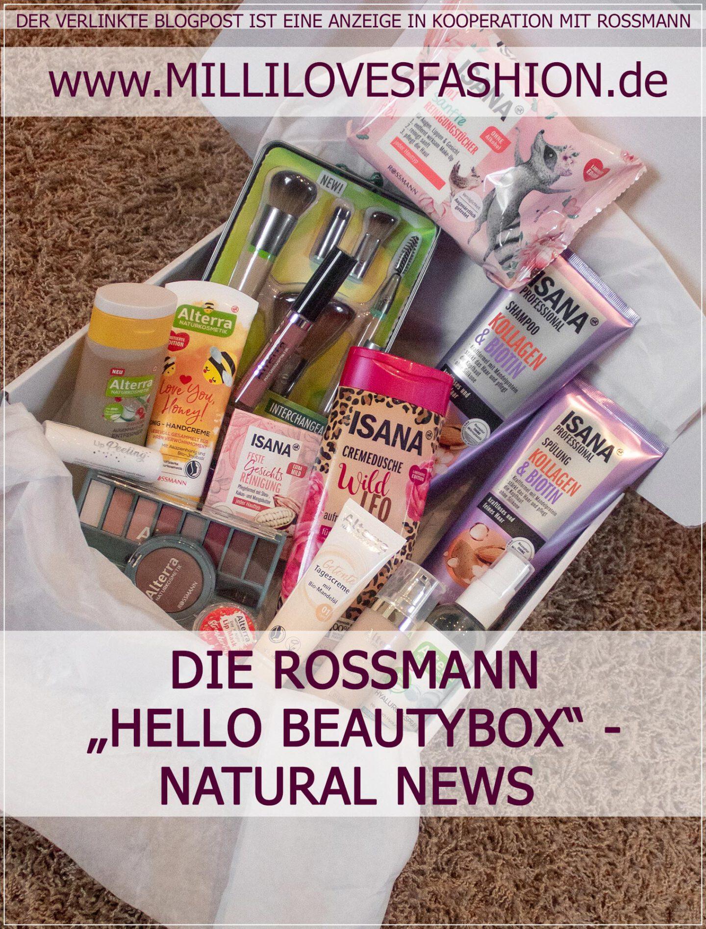 Rossmann Produktneuheiten aus der Hello Beauty Bloggerbox