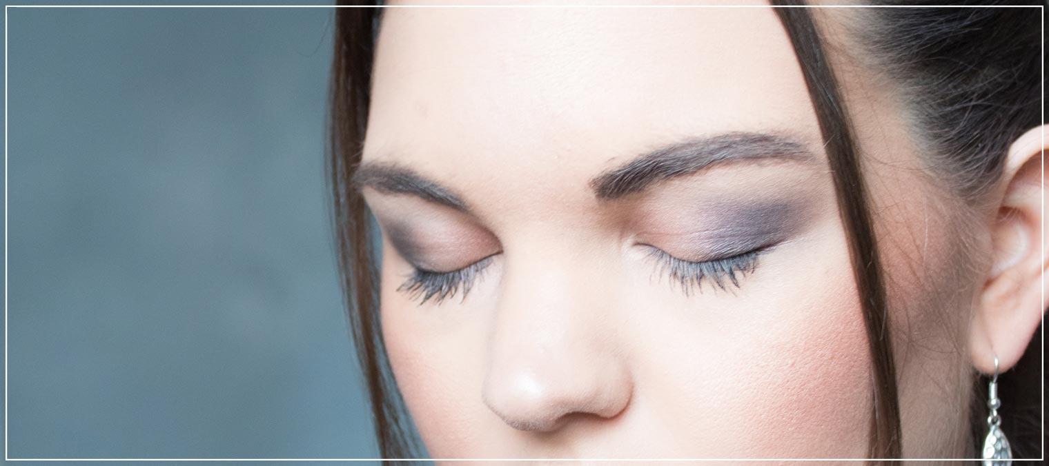 Abend-Make-Up mit der Naked Palette