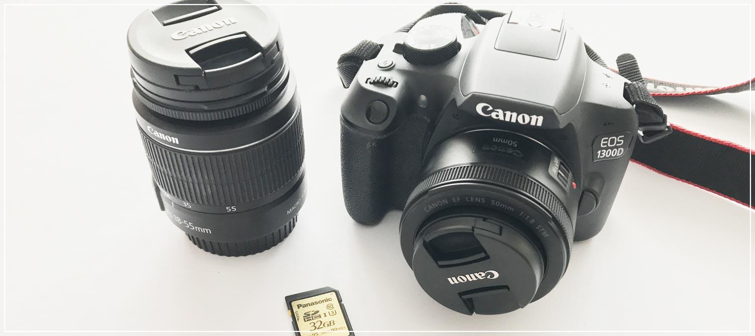 Blogger Kamerareview 1300D