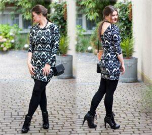 GLamrock Outfit Minikleid