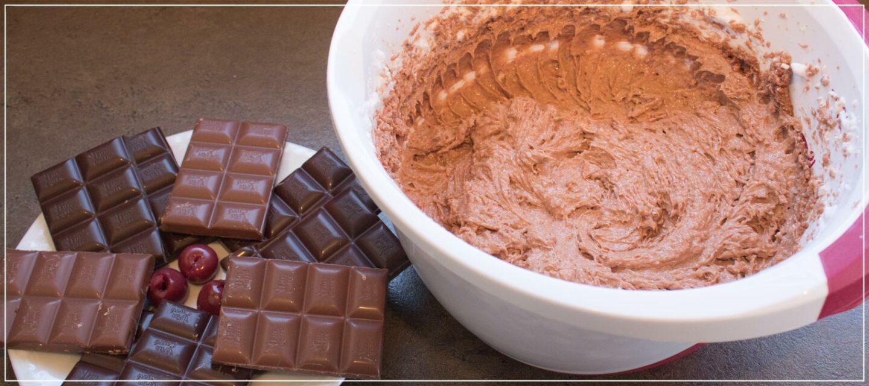 Rezept Schokoladenkuchen mit Kirschen