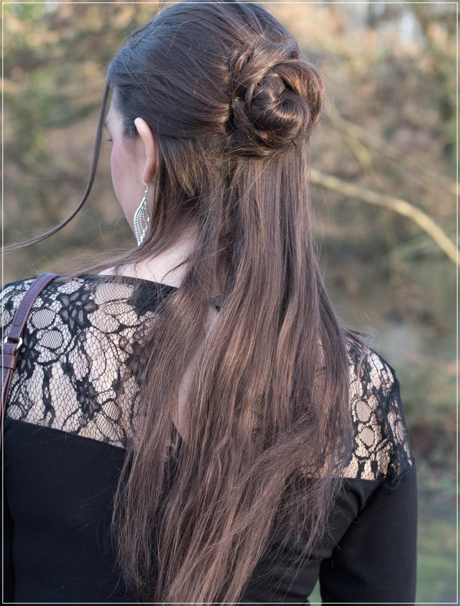 halboffene Haare zum Silvesterlook