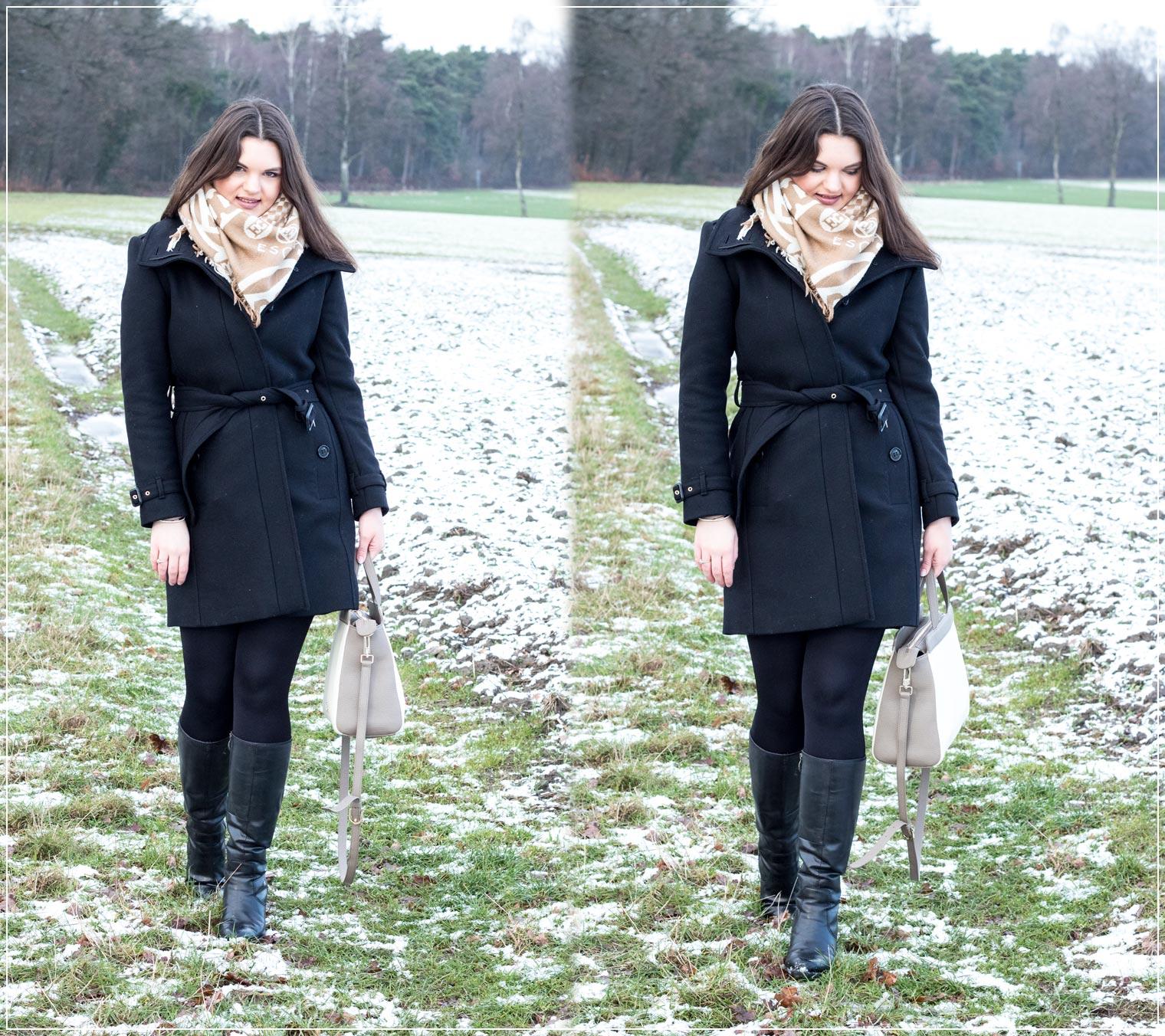 klassischer und eleganter Winterlook
