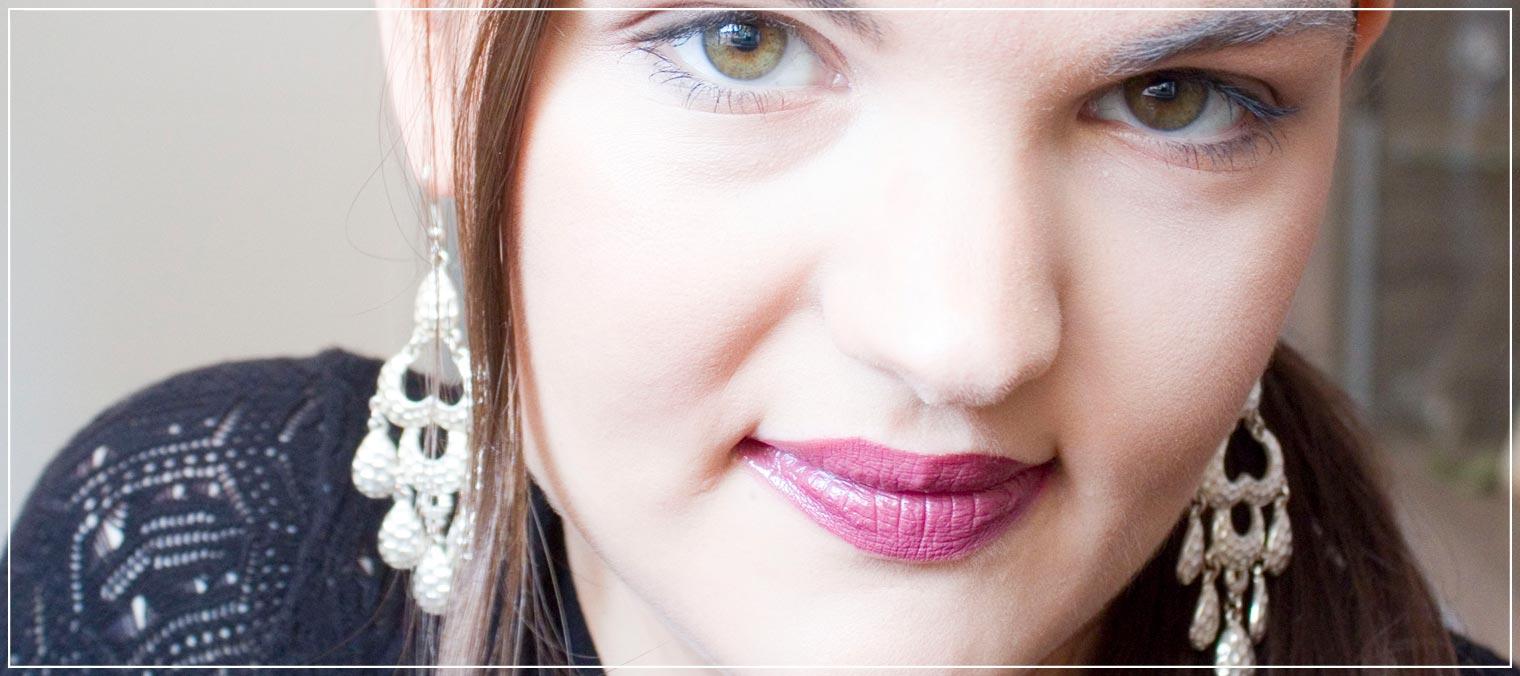 Lipcolor Review extra langer Halt in pink