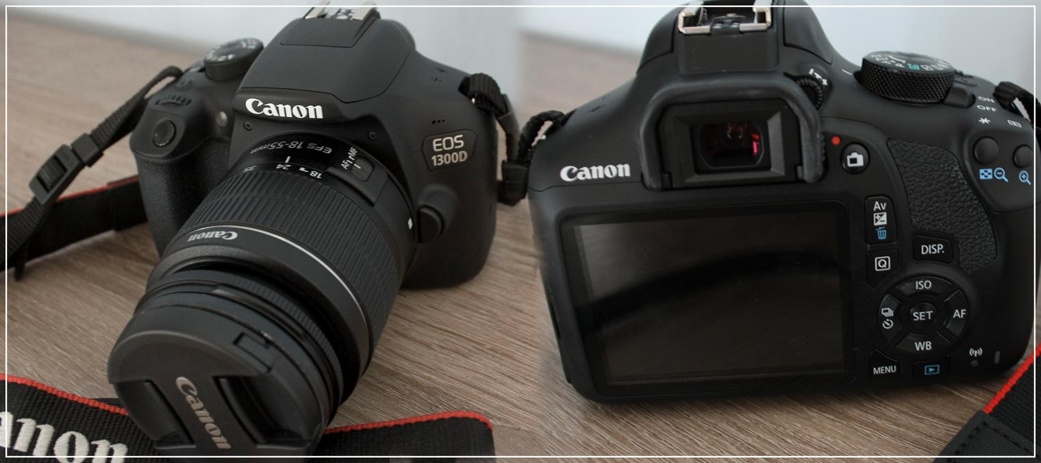 Kamera für Blogger Canon 1300D