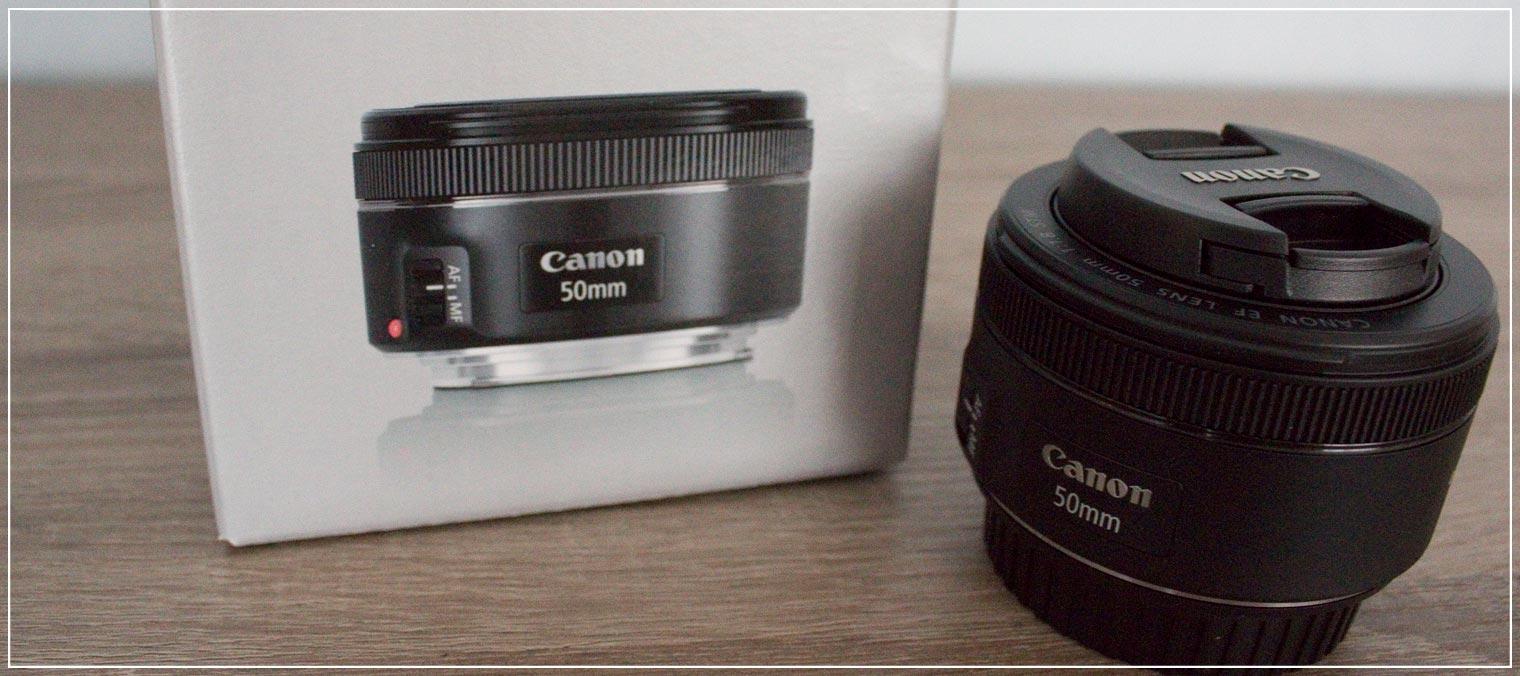 Blogerobjektiv 50mm