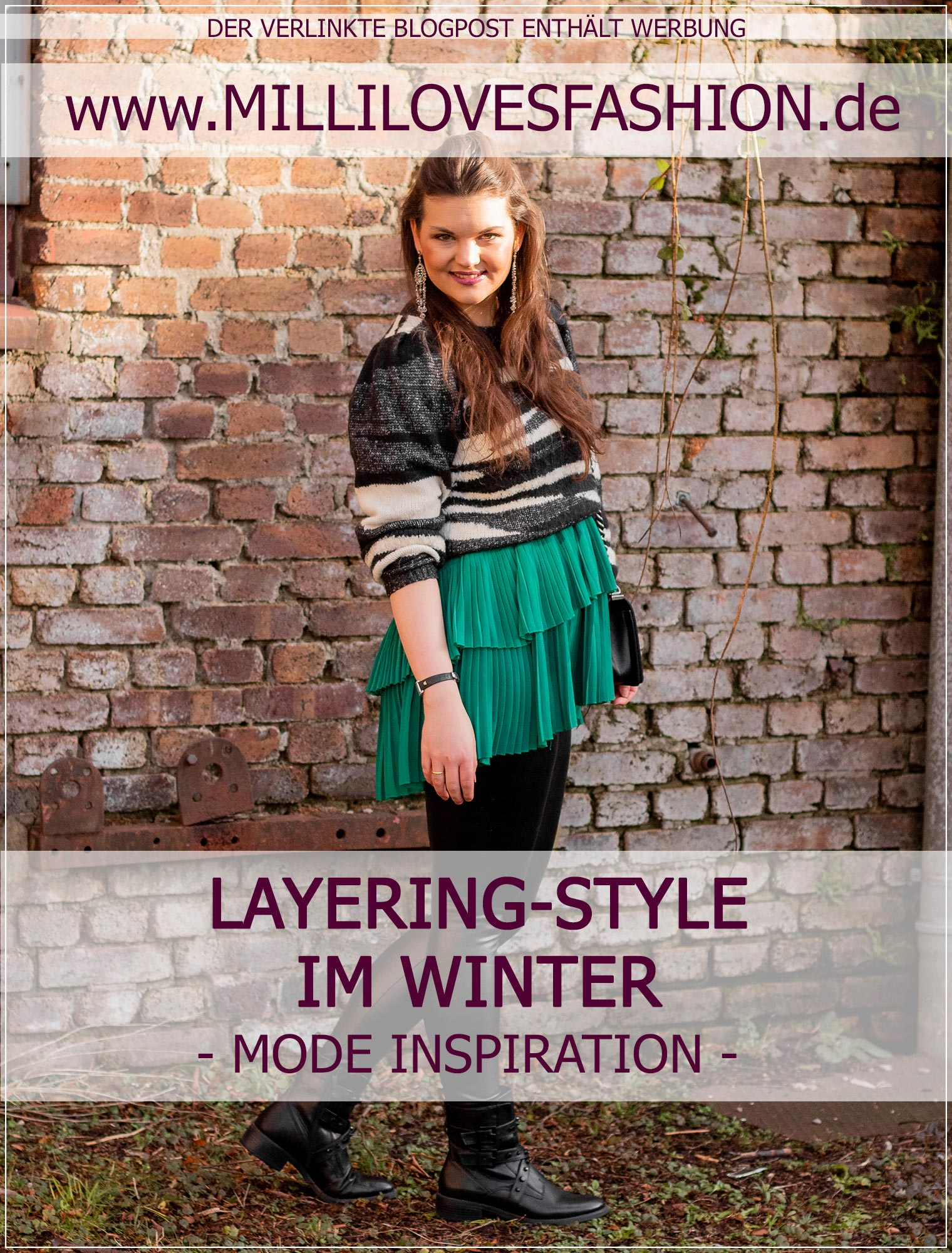Layering Outfit im Winter stylen