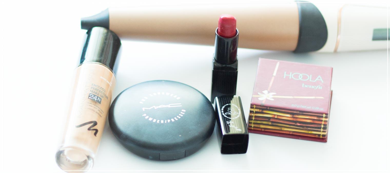 Make-Up Produkte Valentinstag Datenight