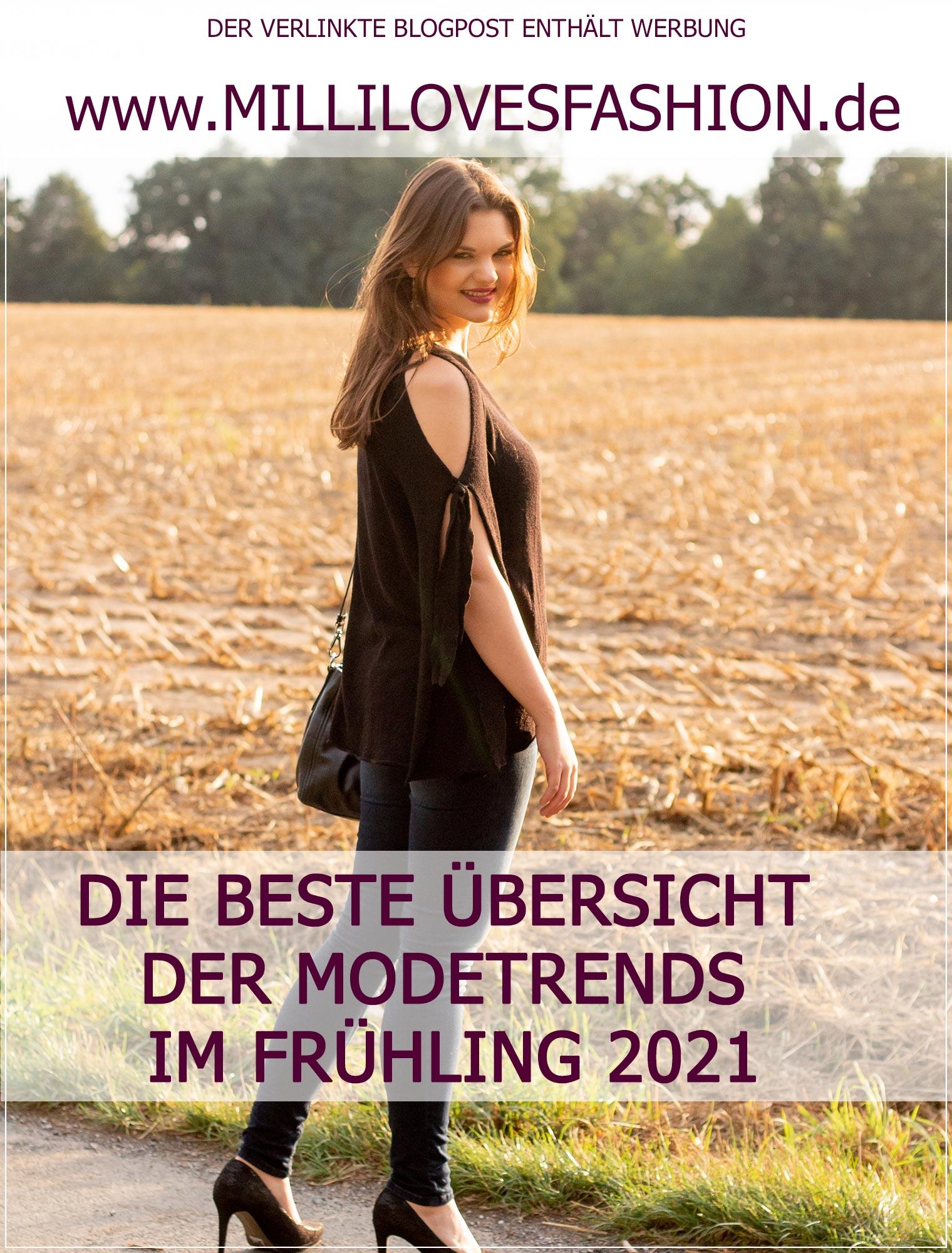 Modetrends im Fruehling 2021